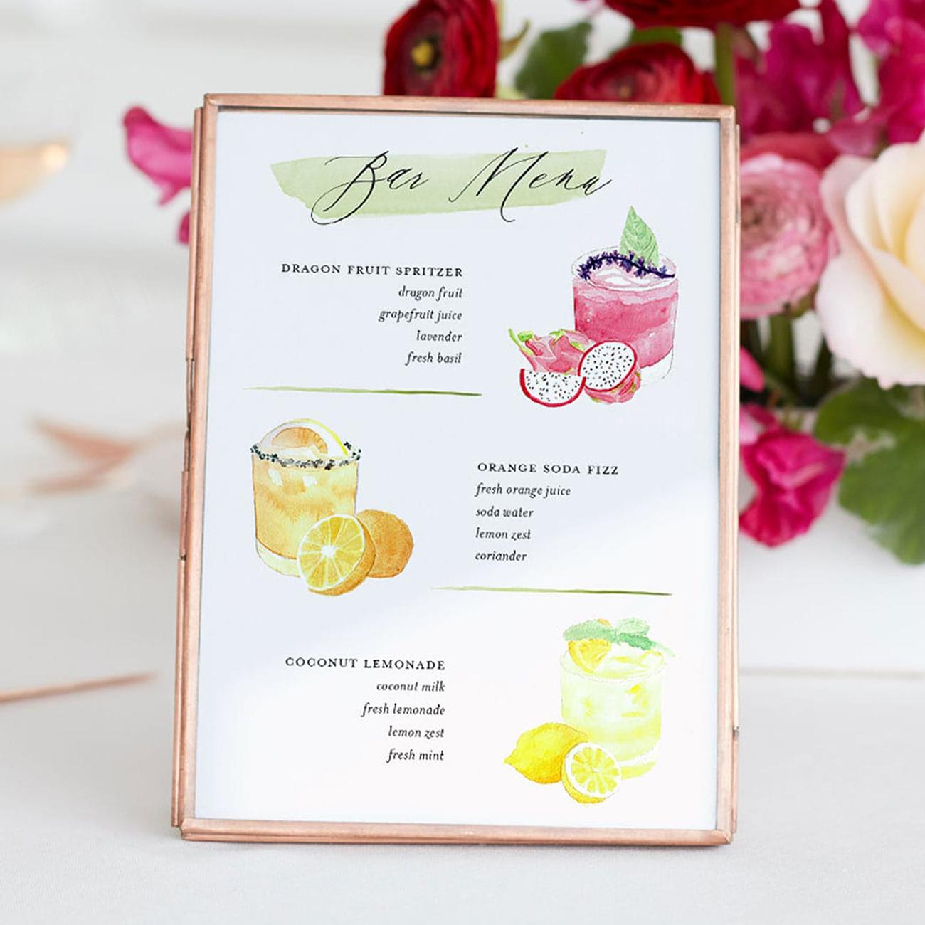 Minted Paper Goods Wedding Invitation Suite