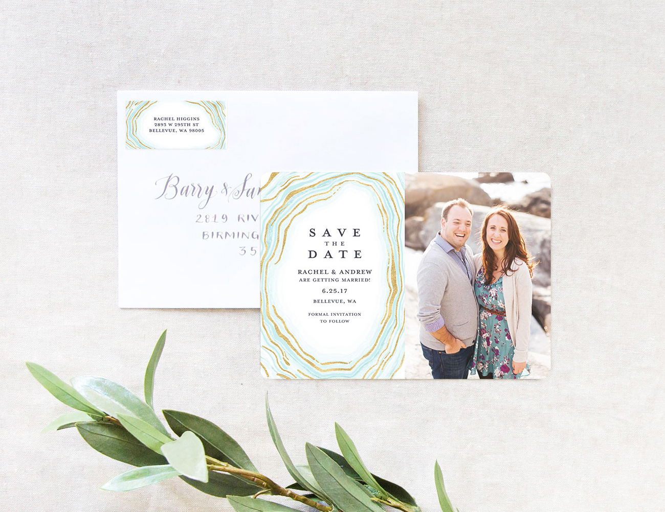 Mixbook Save the Dates