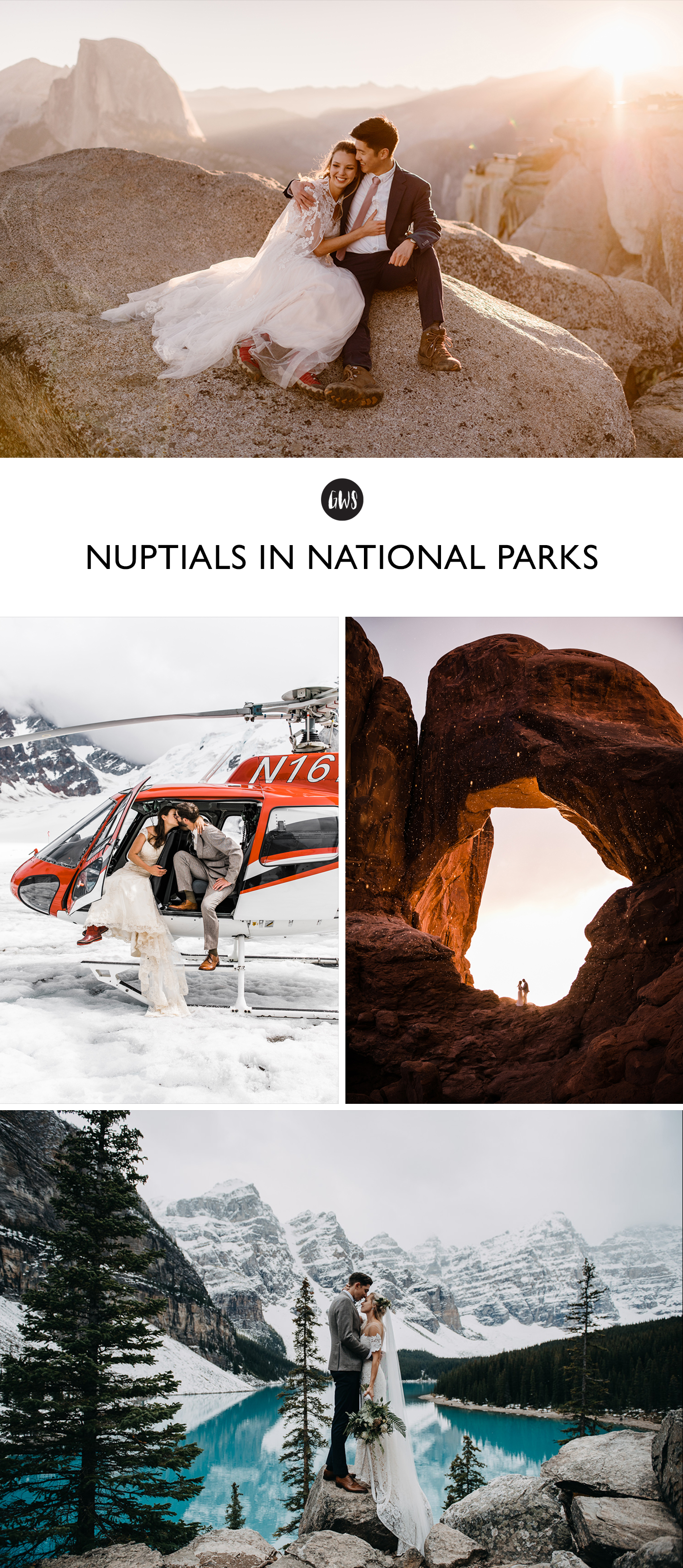 Nuptials in National Parks