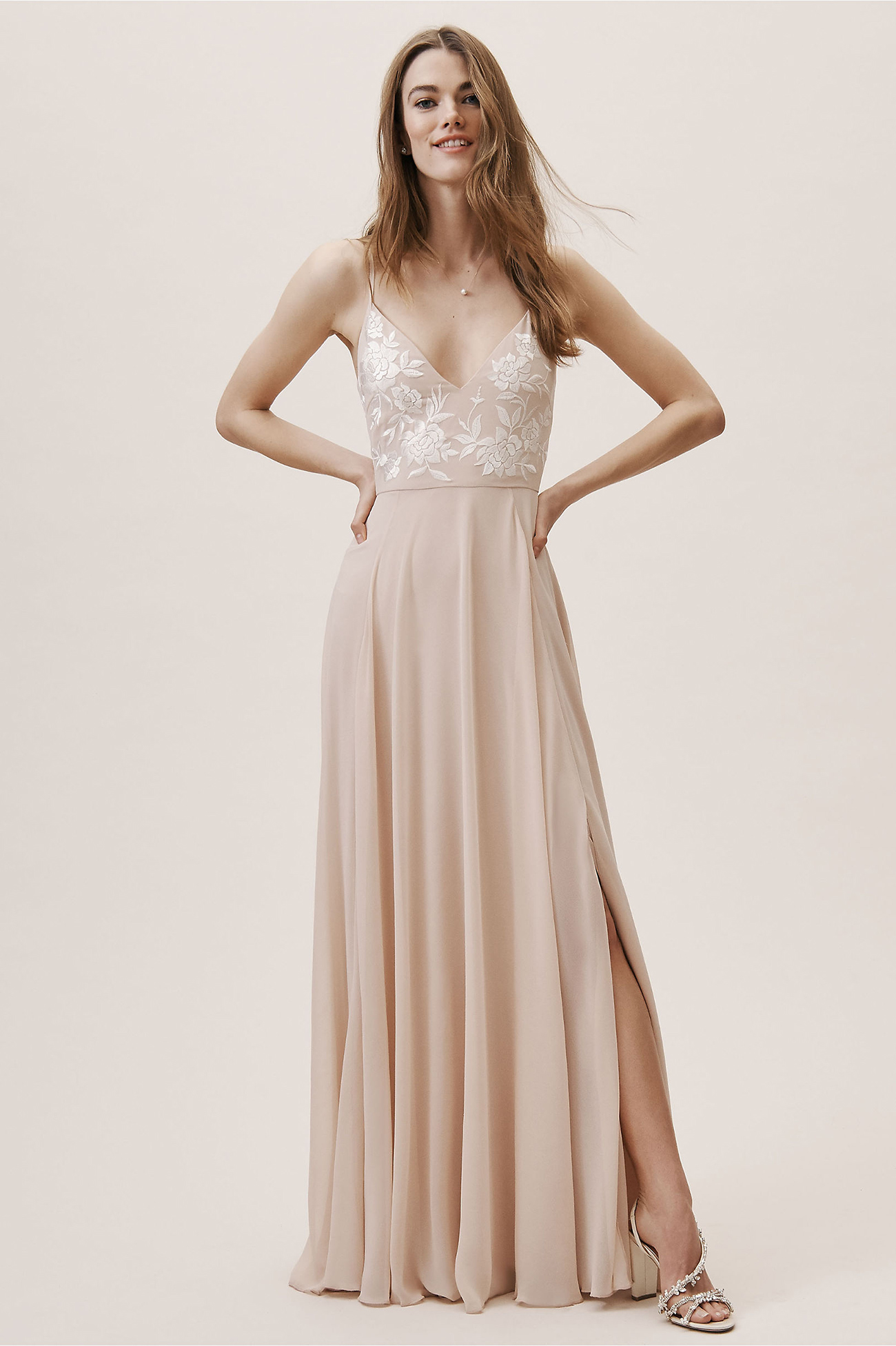 Sadia Dress in Blush