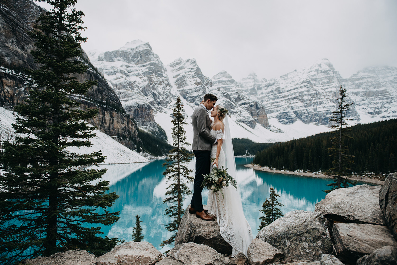 Lake Louise National Park Banff Canada Elopement