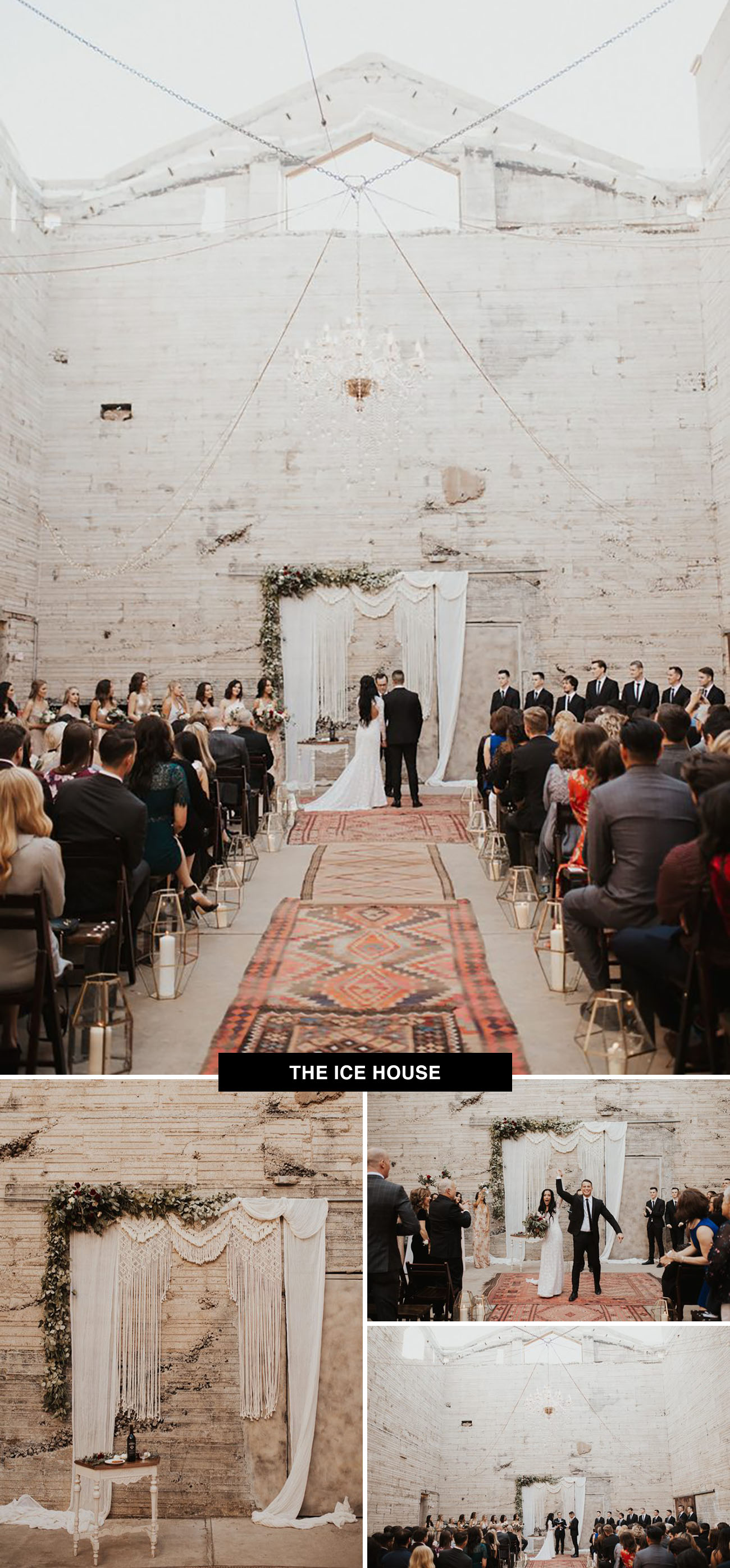 The Ice House wedding venue in Phoenix, Arizona is a cool place to get married