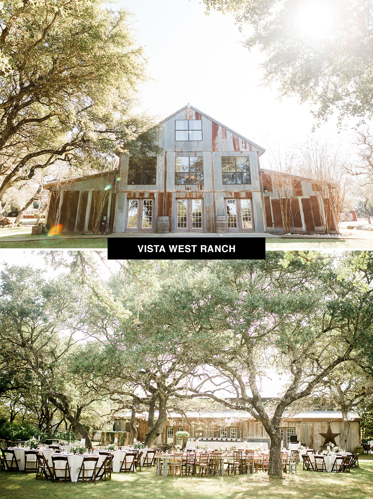 Vista West Ranch wedding venue in Texas is perfect for those seeking a rustic ranch vibe