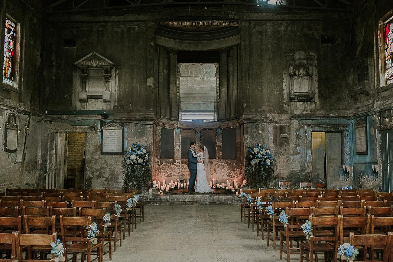 asylum chapel london abandoned wedding venue