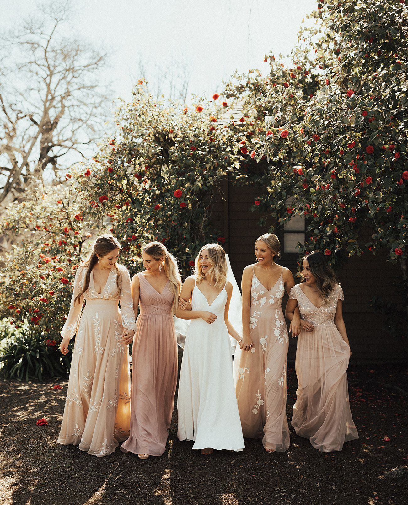 Keeping it Tonal?The Latest Trend for Bridesmaids with BHLDN