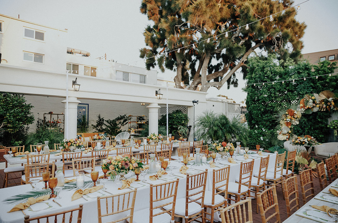 Spanish Tropical Inspired Wedding