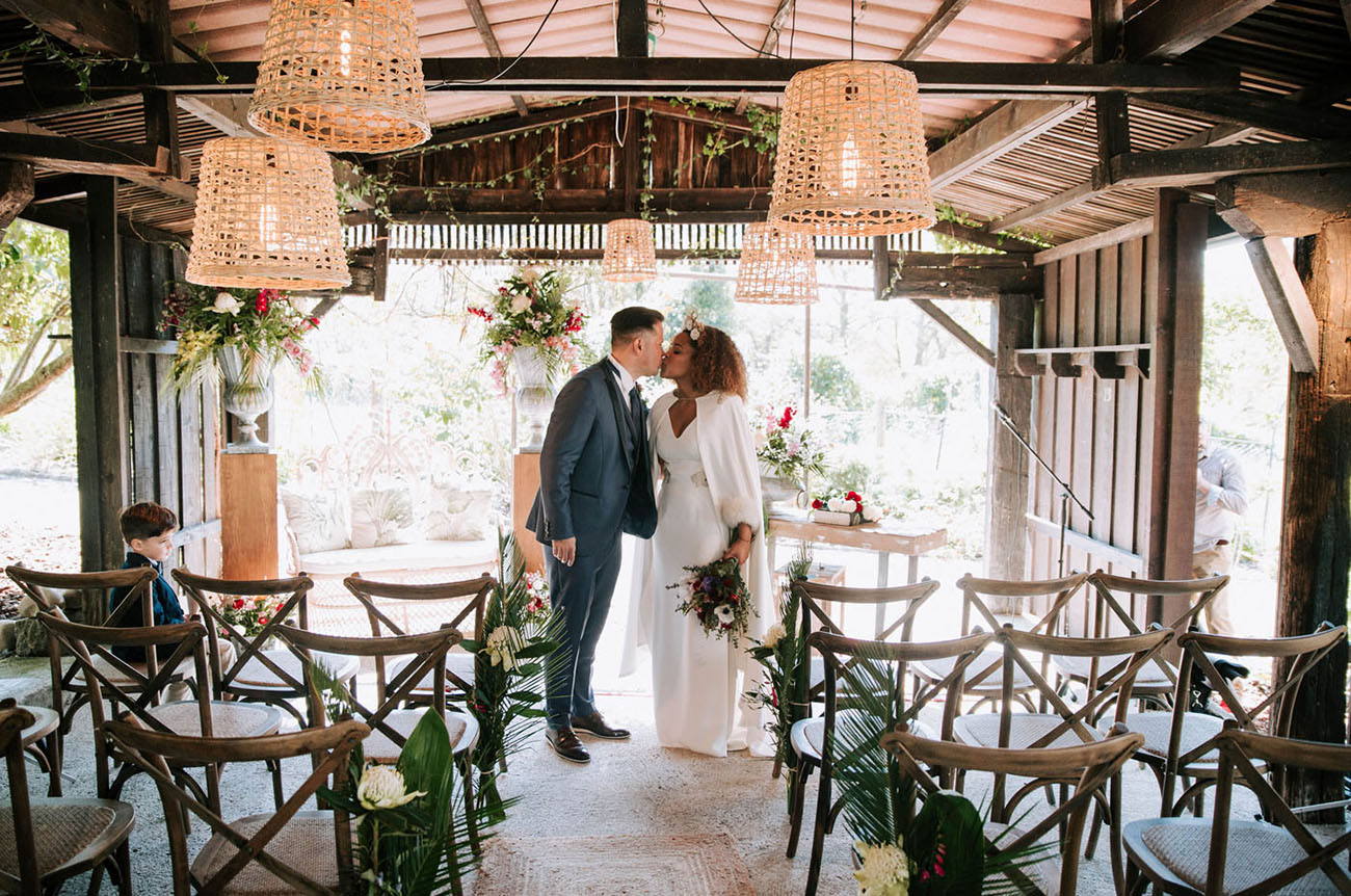 Modern Wedding in Spain