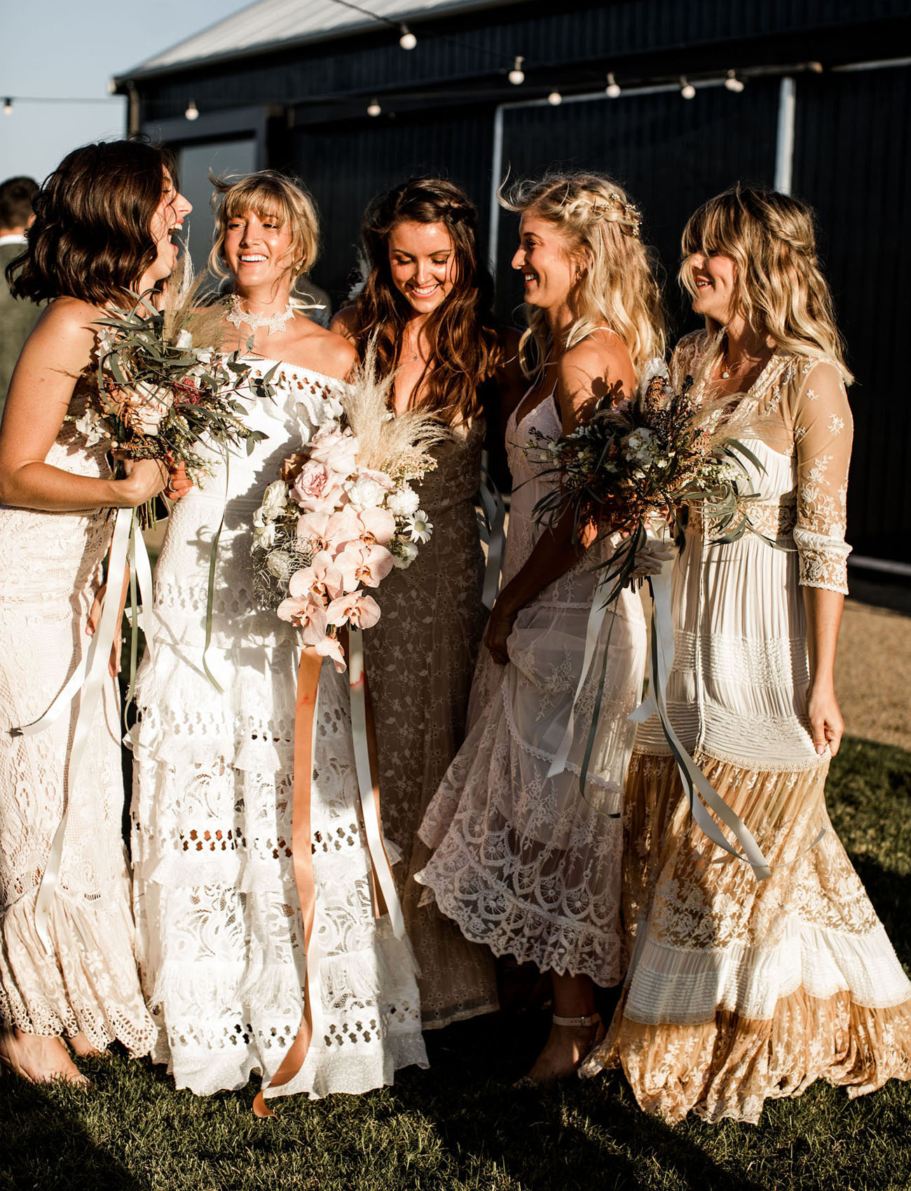 Festival Inspired Australia Wedding