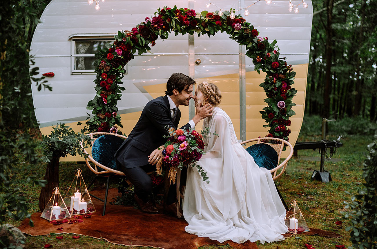 Hudson Valley Glamping Elopement