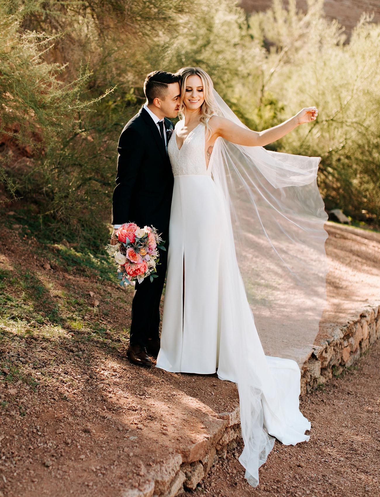 Iridescent + Eclectic Arizona Wedding