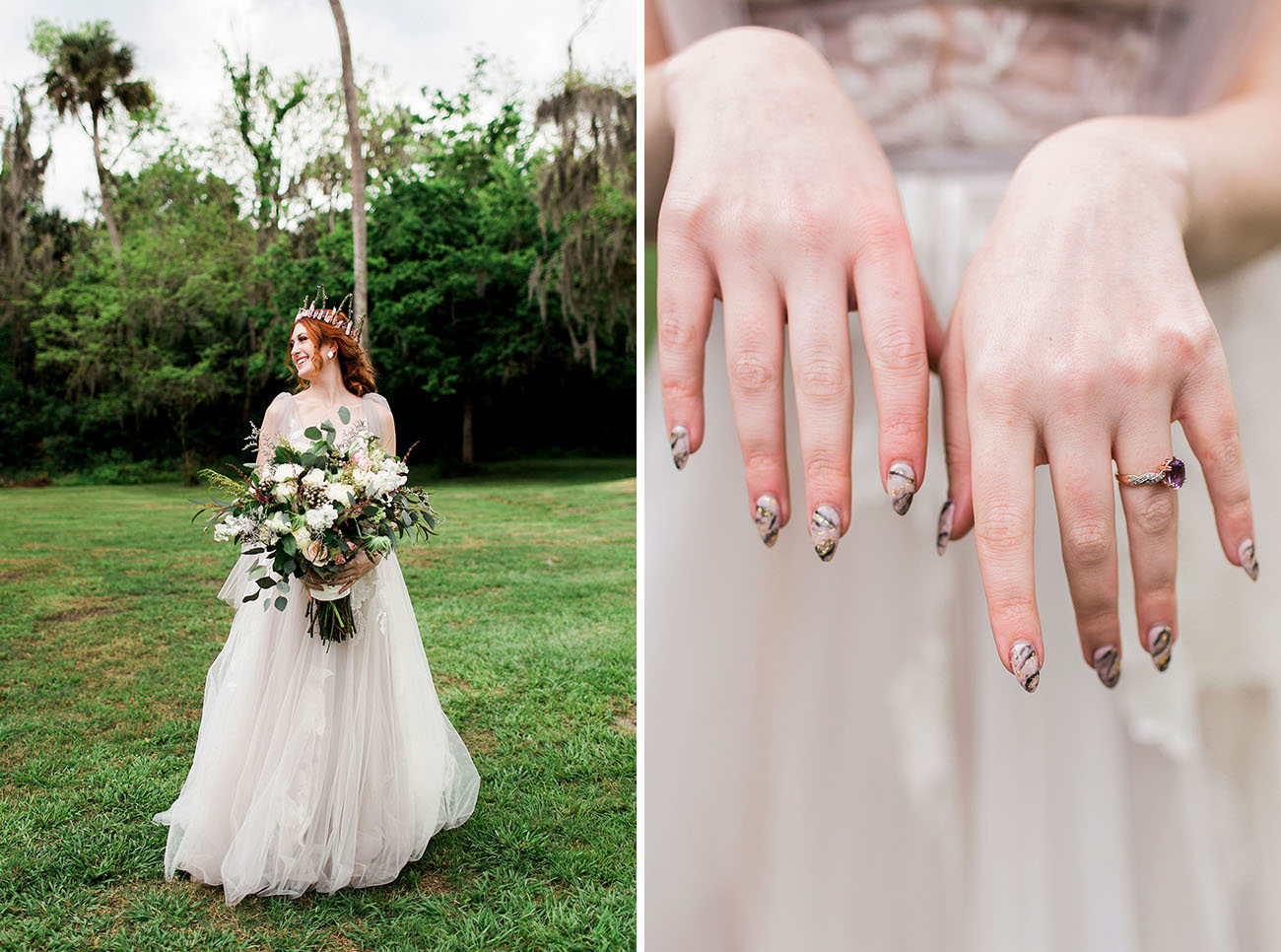 One Ring To Rule Them All A Fantasy Forest Wedding Bonded By