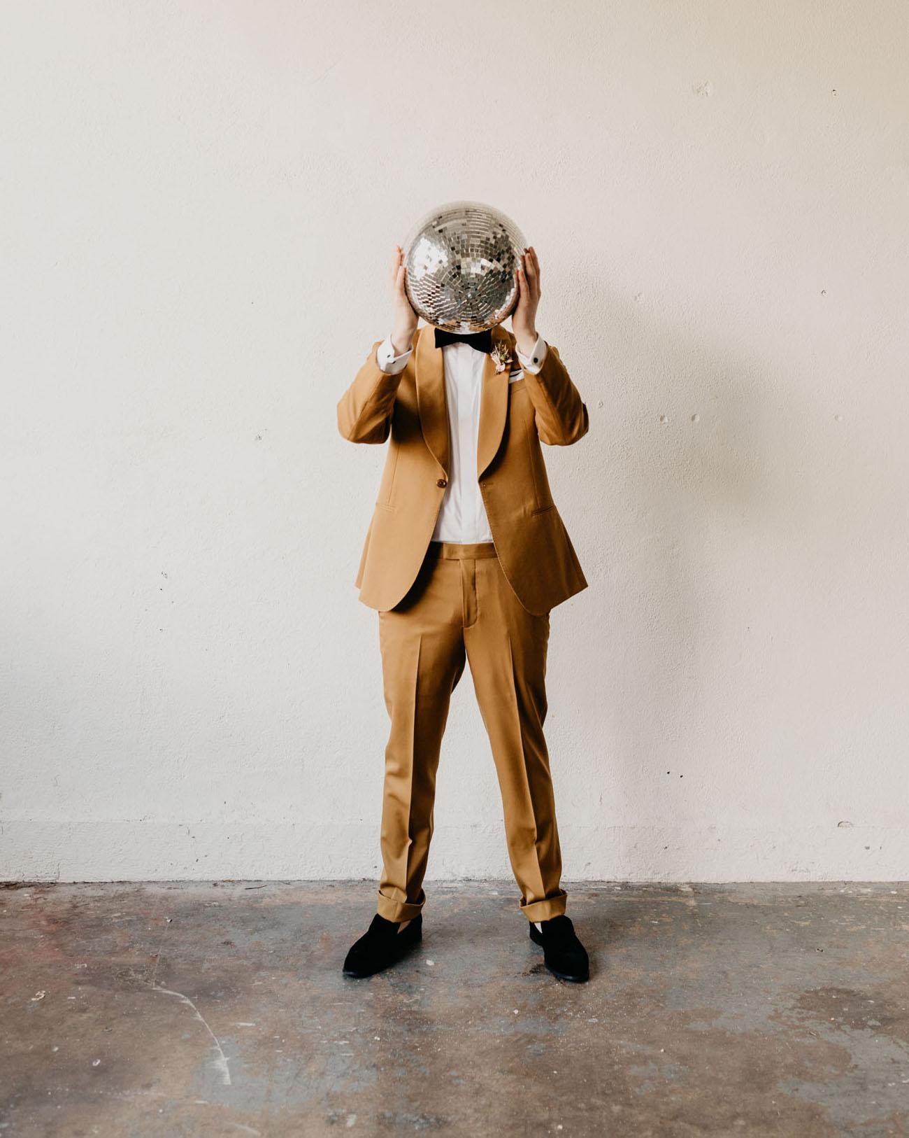 Marigold Grooms Suit