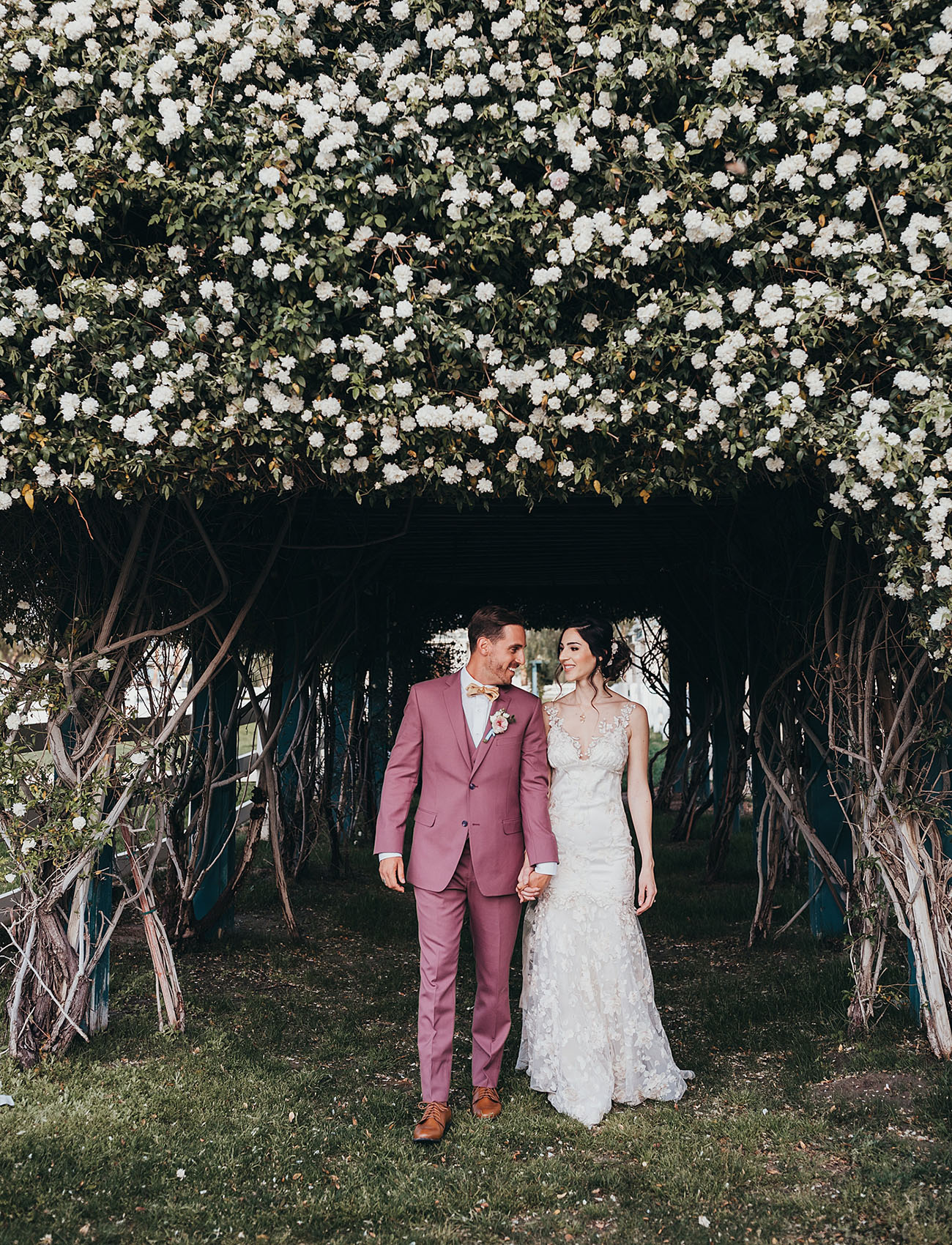 Modern Garden Wedding Inspiration