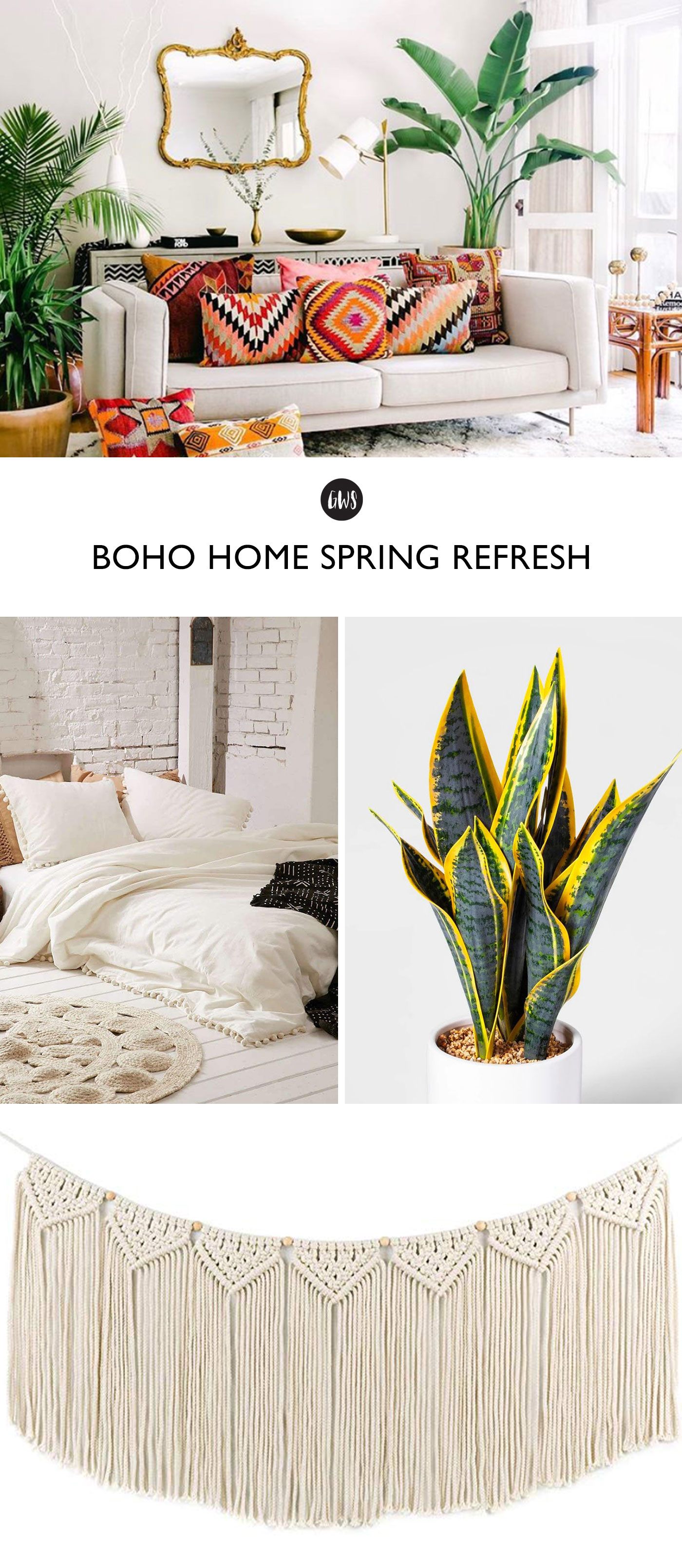 spring home refresh with target and amazon finds