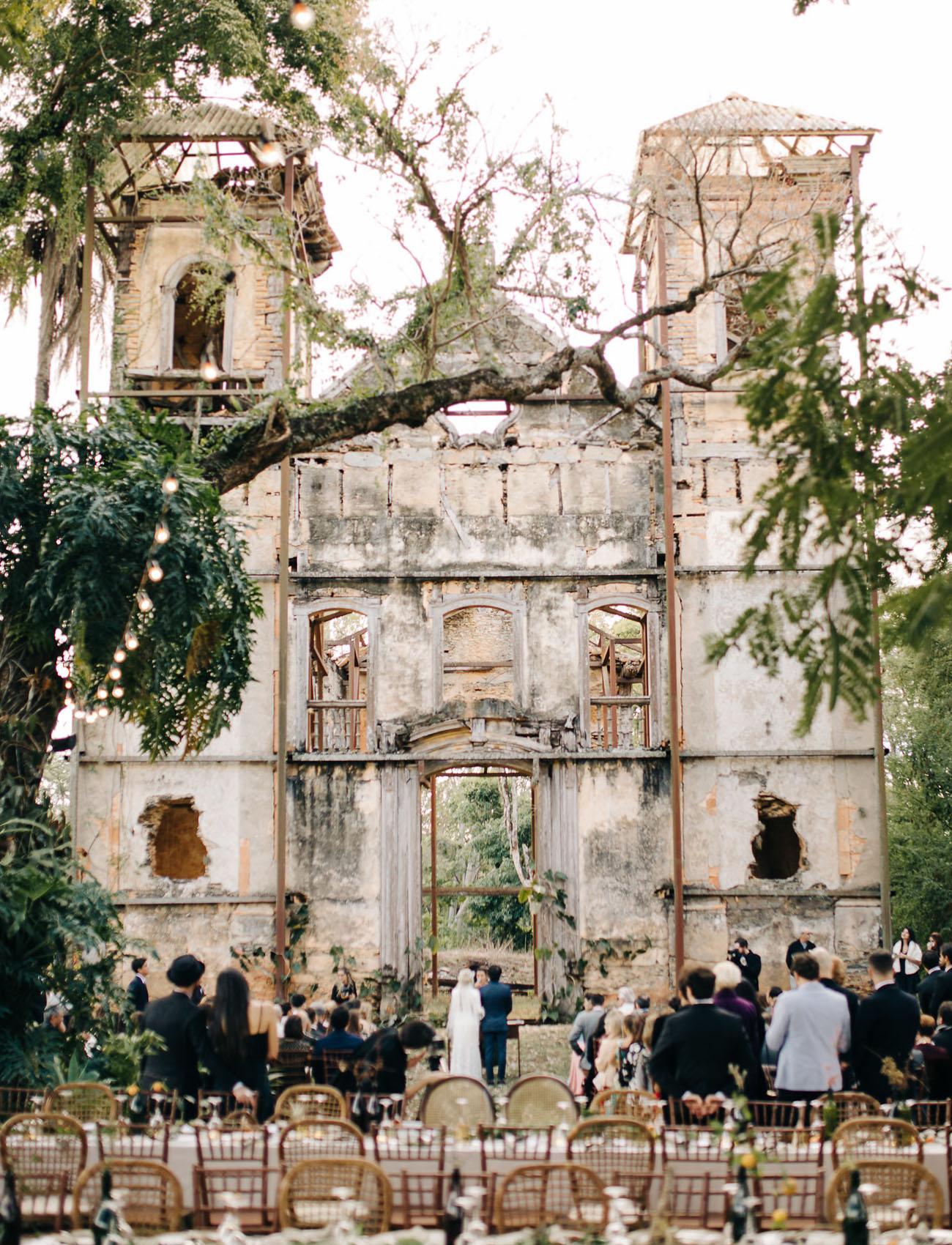 Abandoned Building Wedding Venue