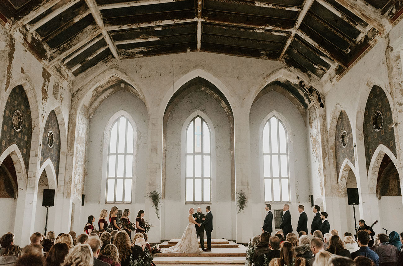 These Stunning Abandoned Buildings Will Make You Want To Have Your Wedding In Ruins Green Wedding Shoes