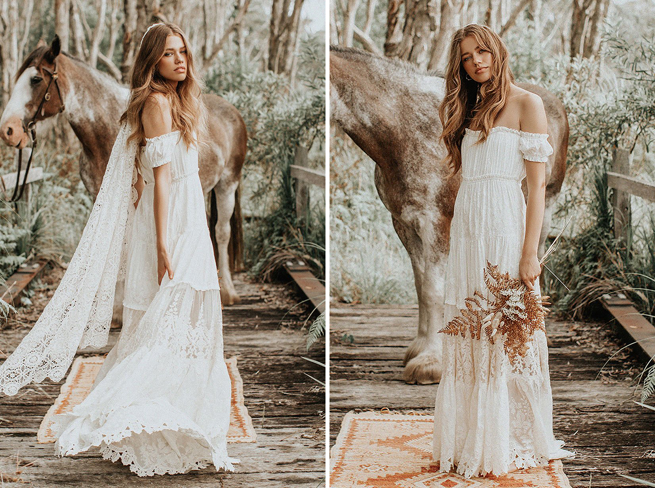 Spell Designs Modern Lace Wedding Dress Under $800 Budget