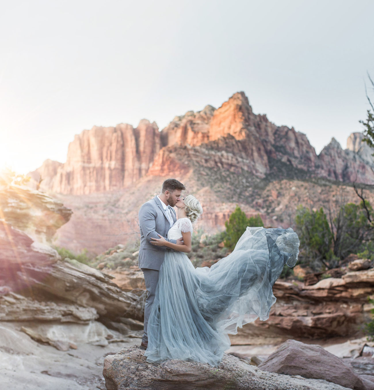 Utah Zion National Park Wedding