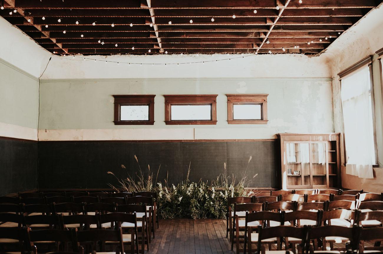 Vintage School House Wedding