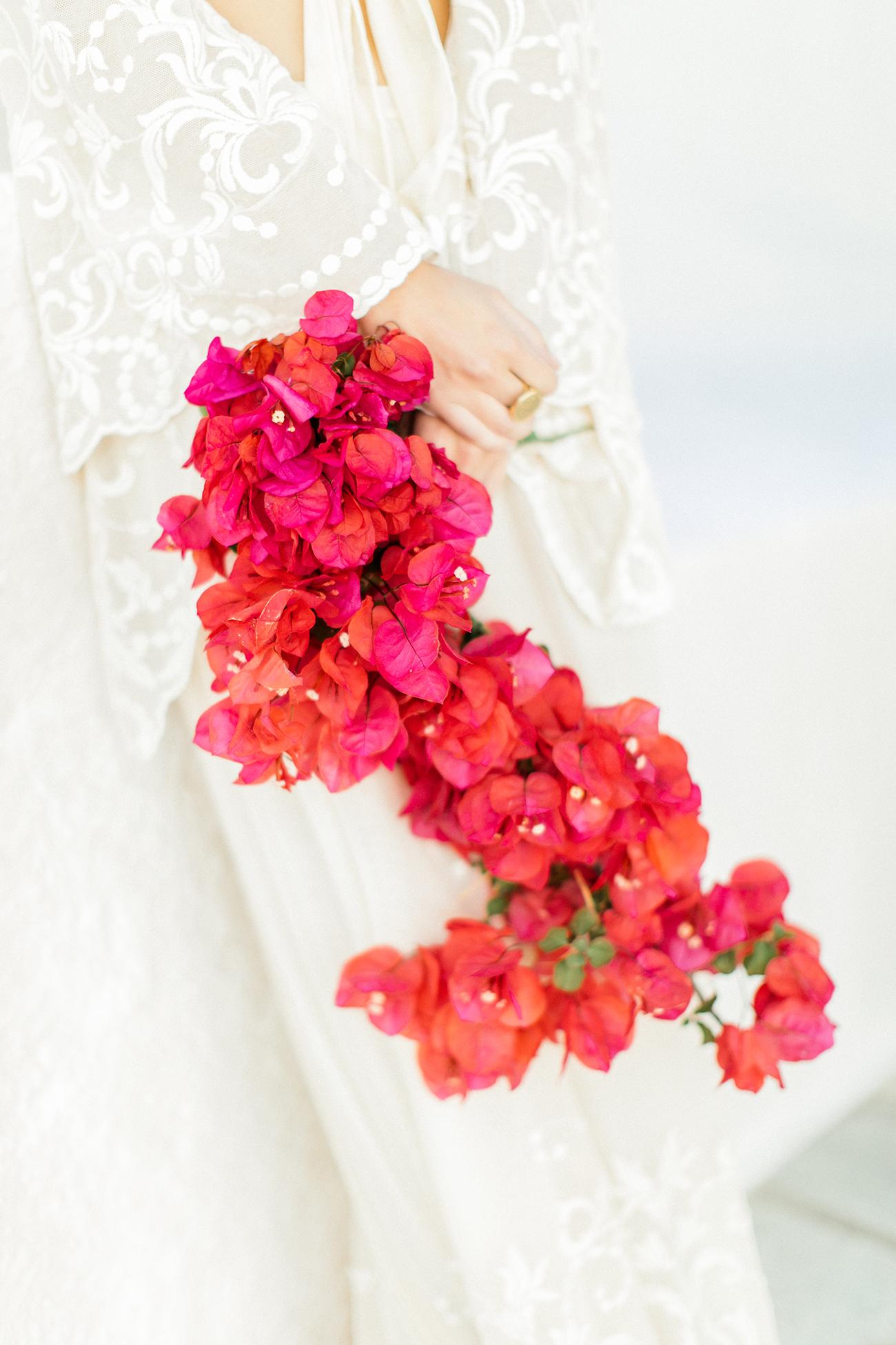 Bougainvillea Bouquet Wedding