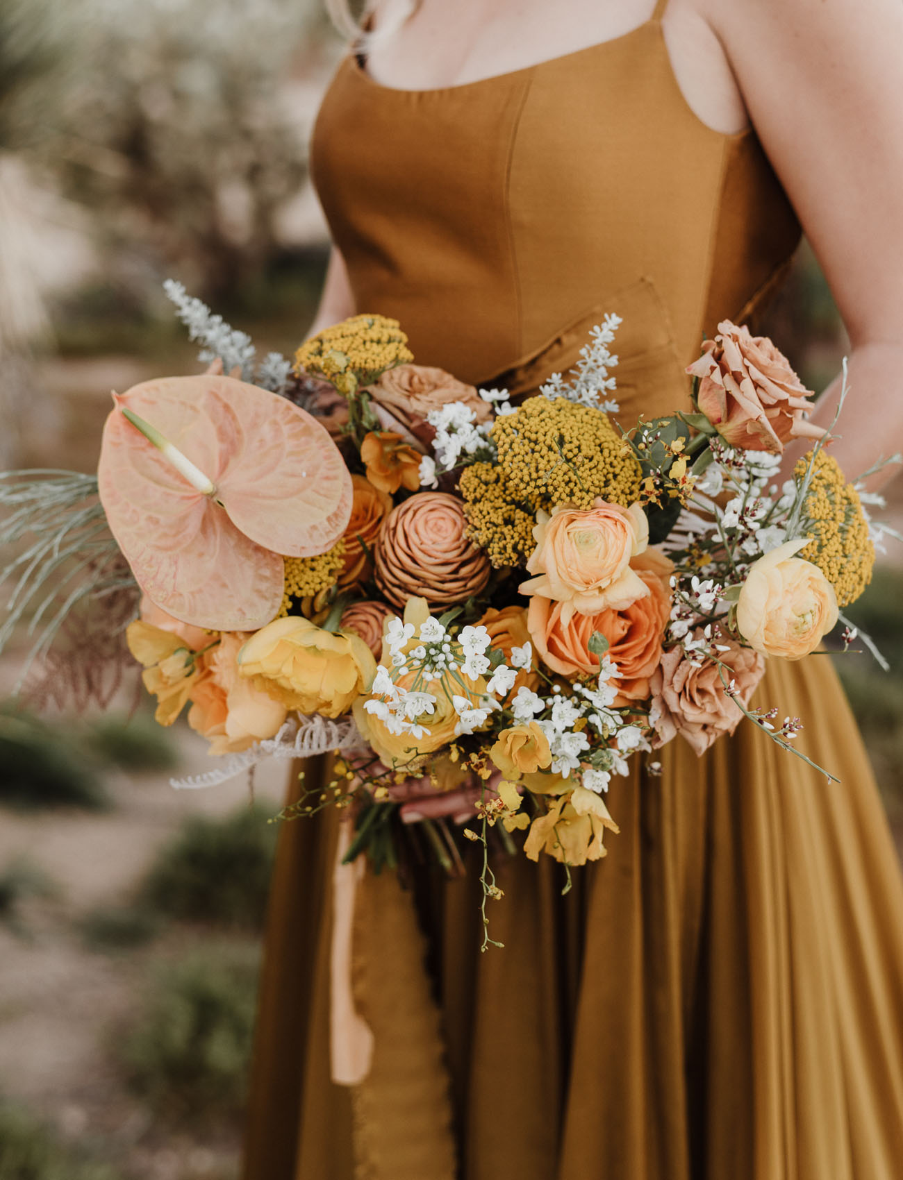 tropical yellow bouquet
