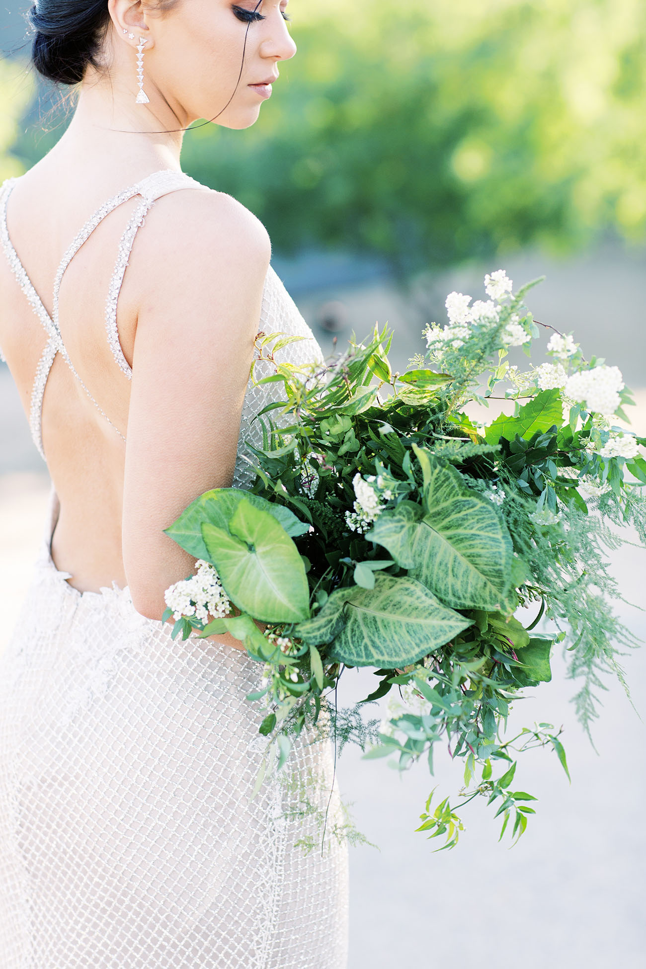 greenery bouquet Mandy Marie Creative