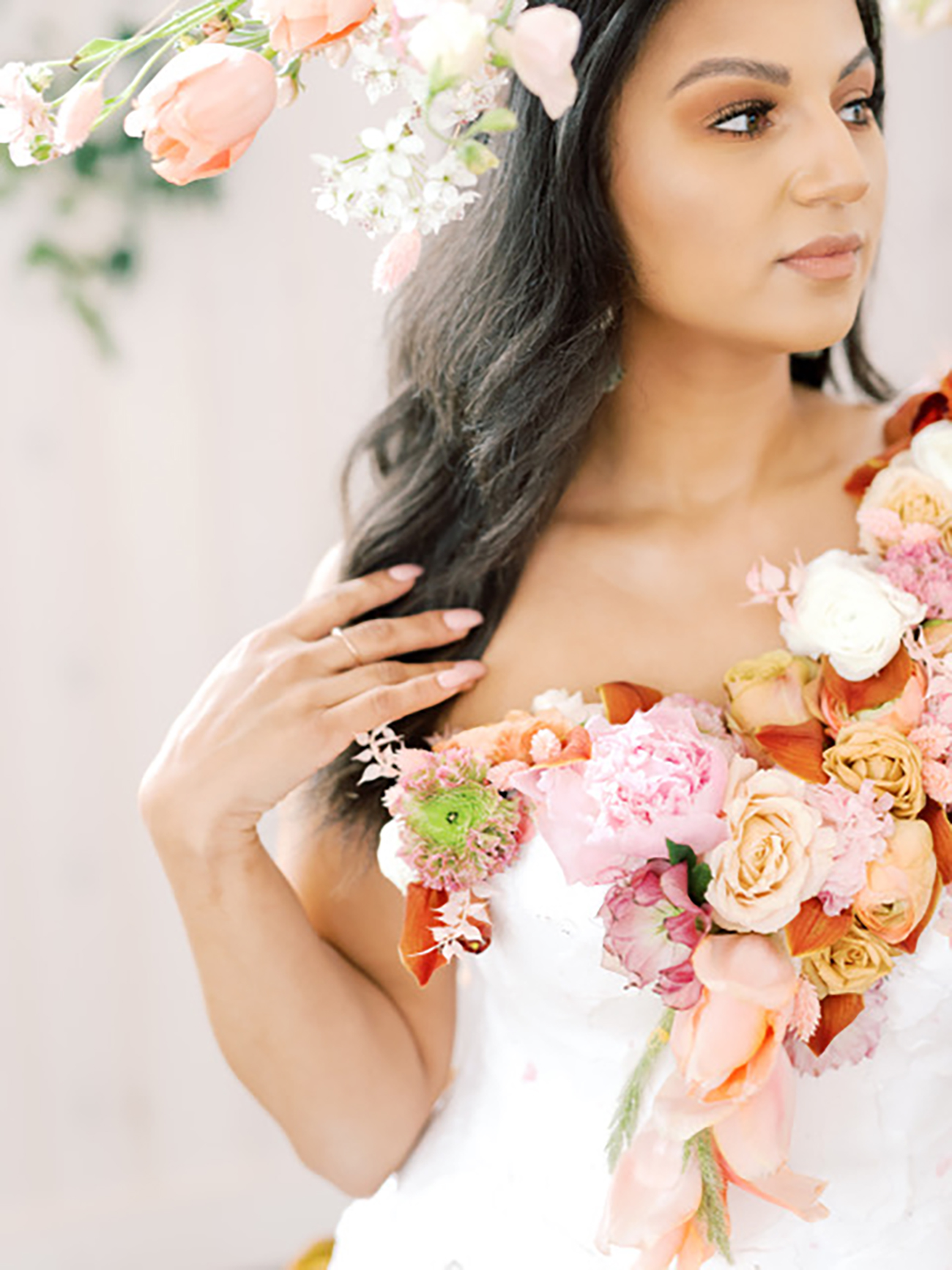 Ready To Wear Floral Creations You Can Rock In Lieu Of A Bouquet
