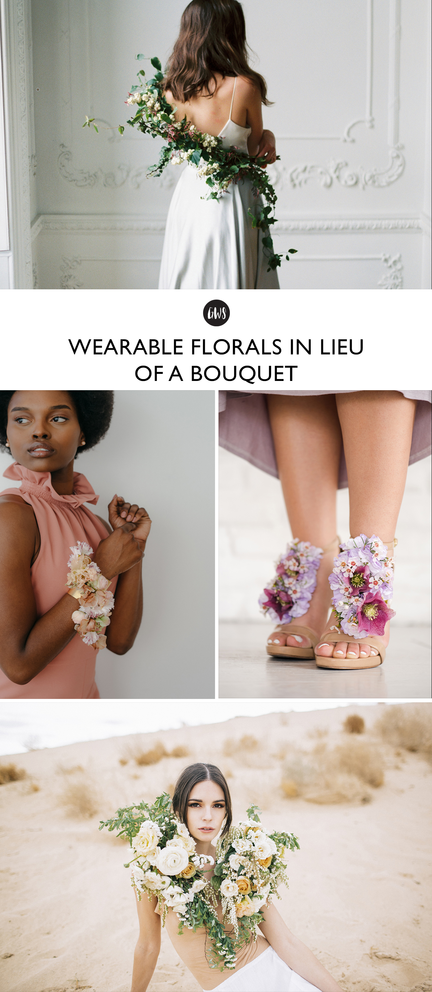 Wearable Florals Pin
