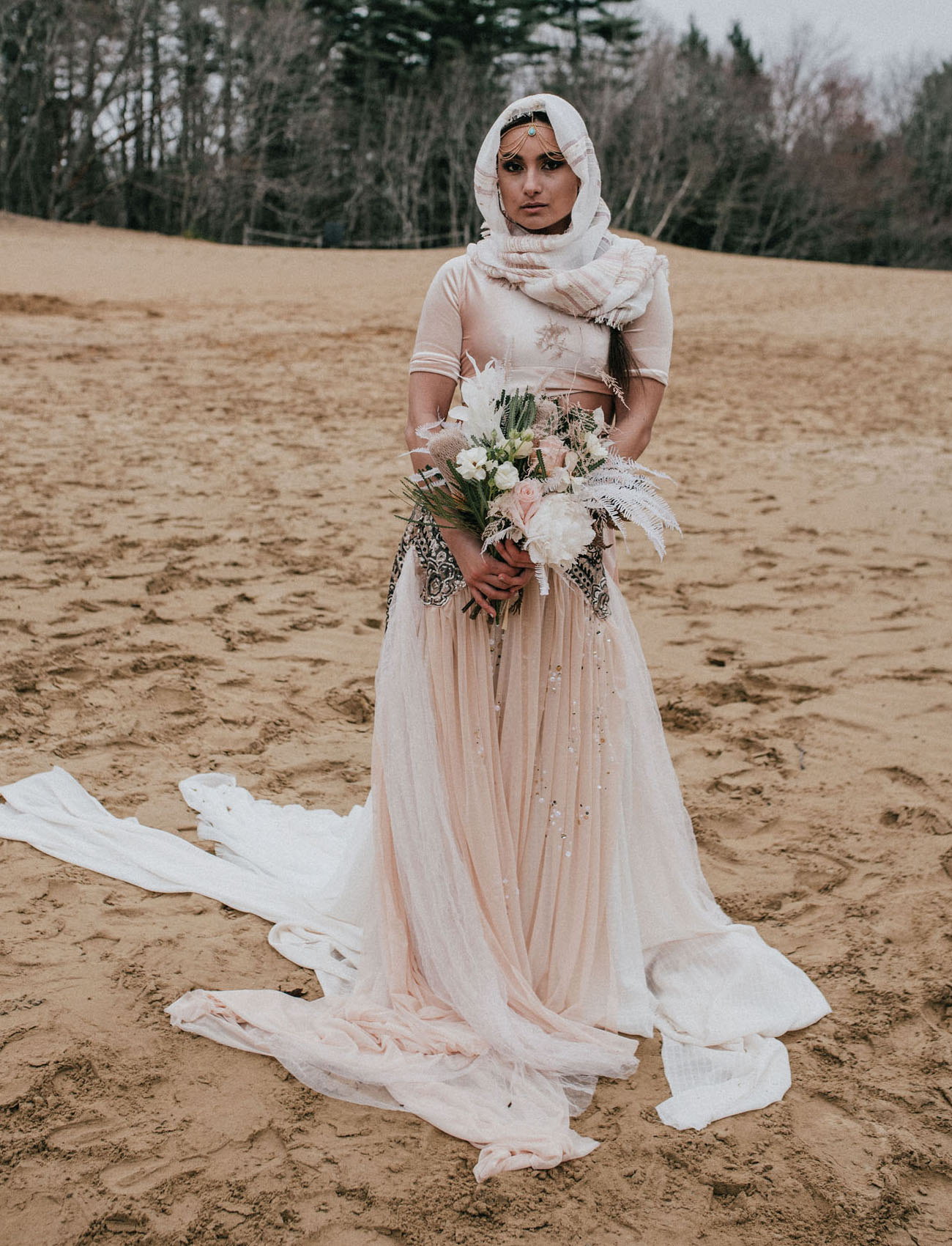 Autumn Nomad Wedding Dress