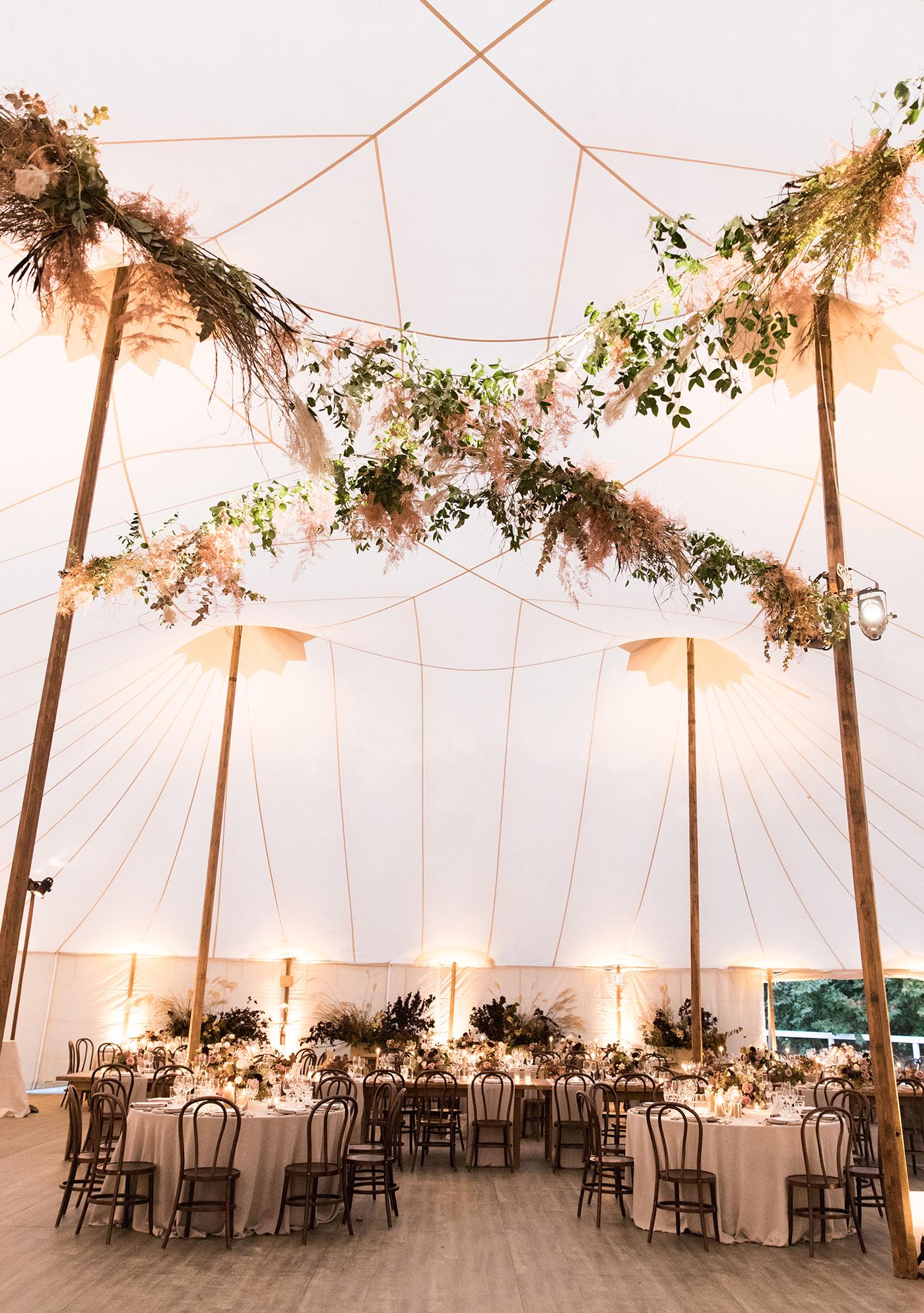 boho wedding tent