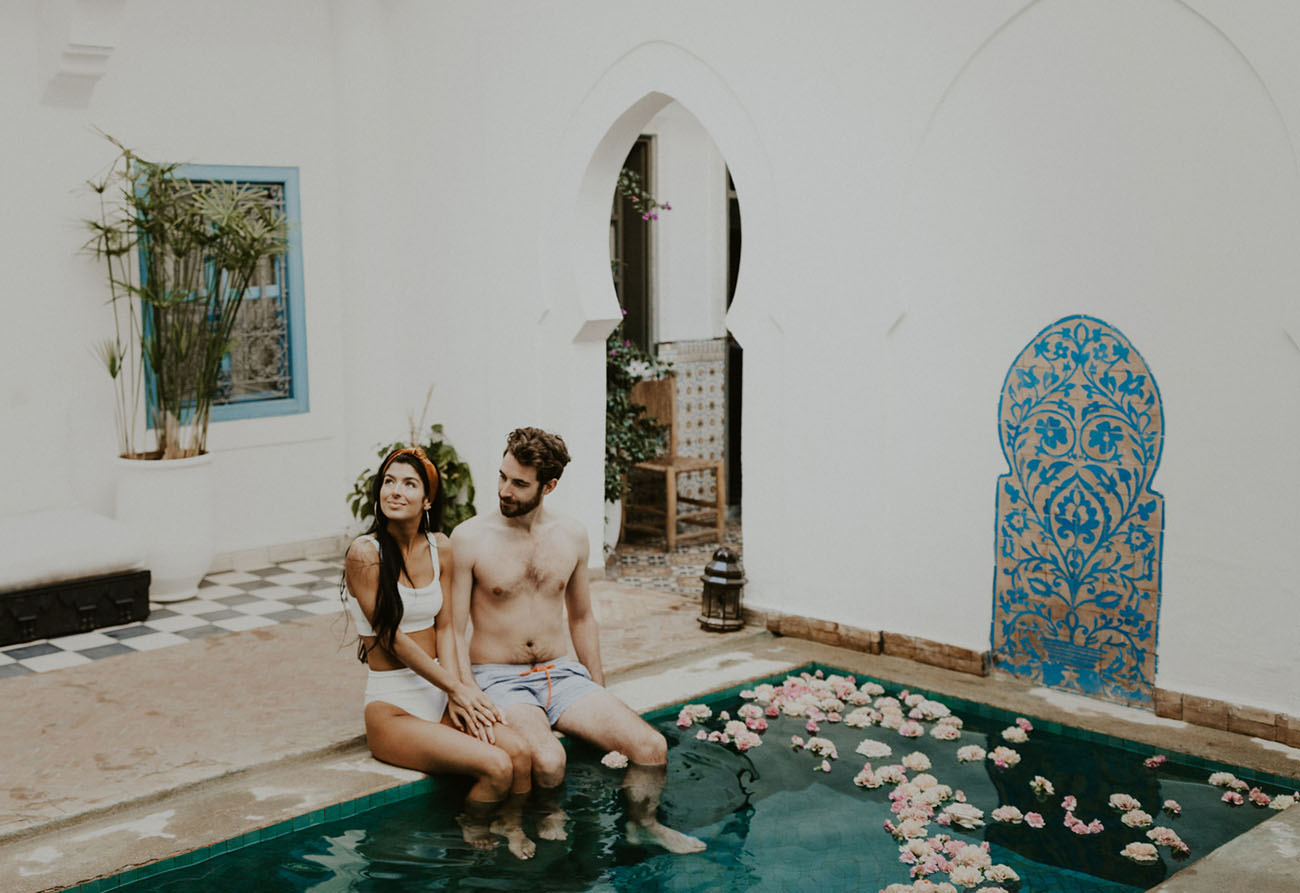 Marrakesh Morocco Elopement Inspiration