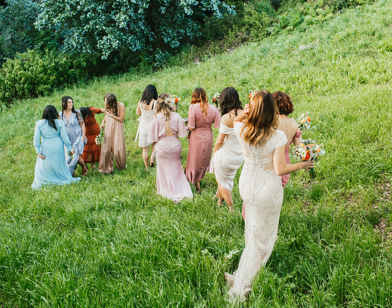 bridesmaids in Big Sur by Better With You Photography