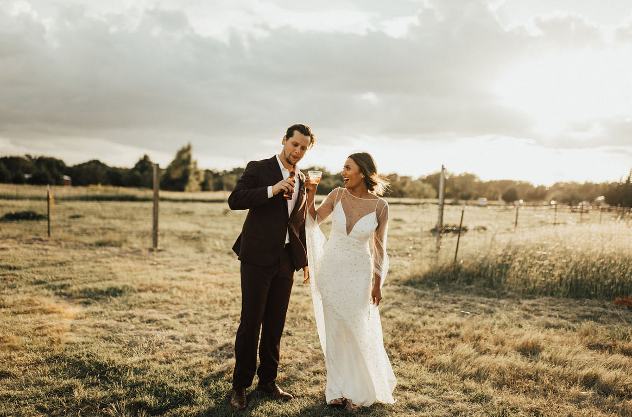 Backyard Texas Wedding