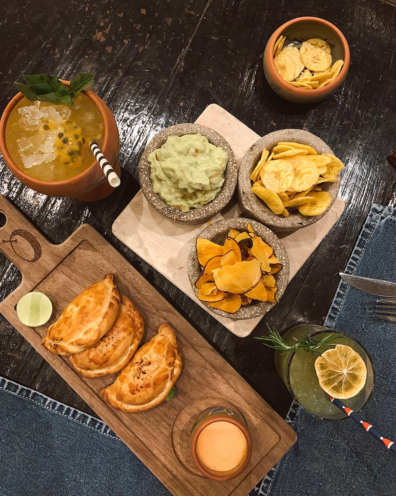 Empanadas at Qespi Restaurant in Cusco