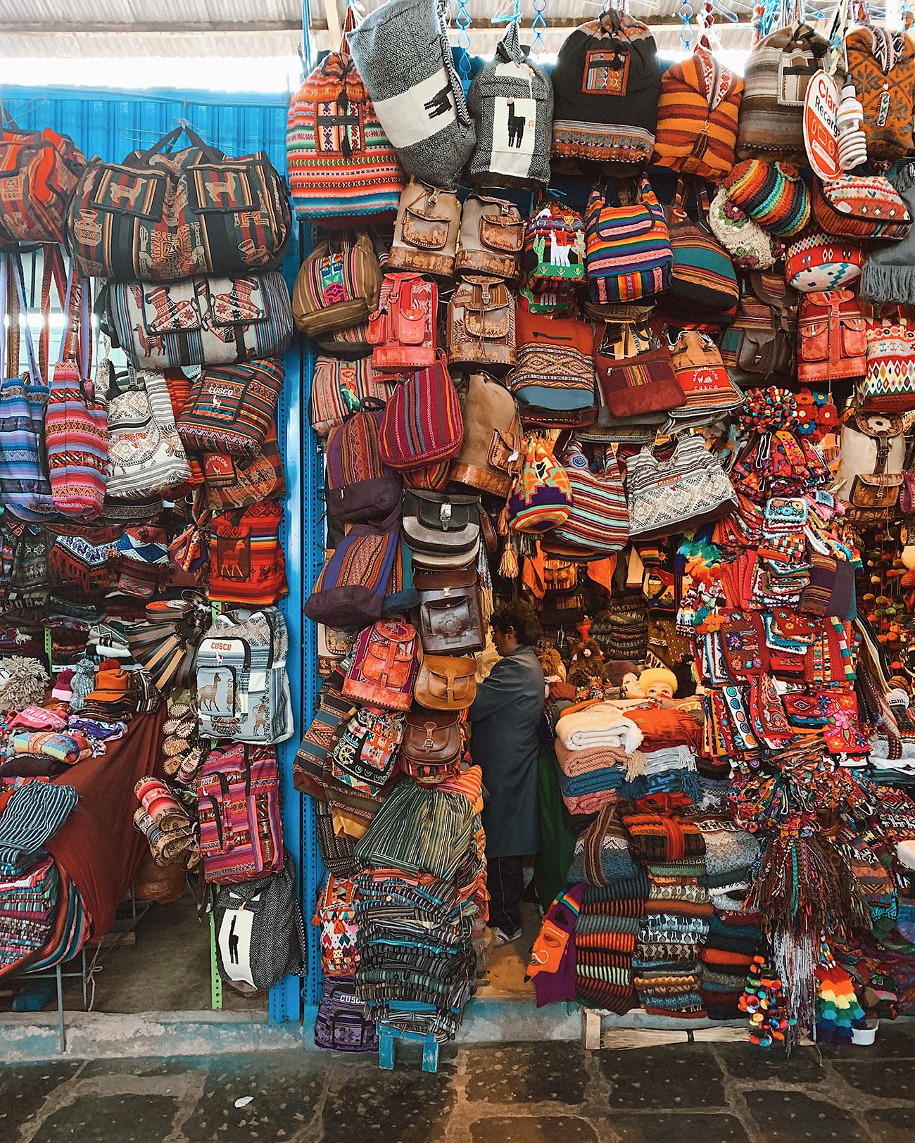 Textiles in Cusco