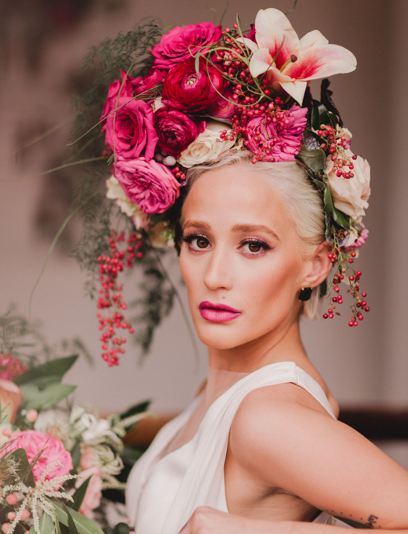 Wearable Hair Florals