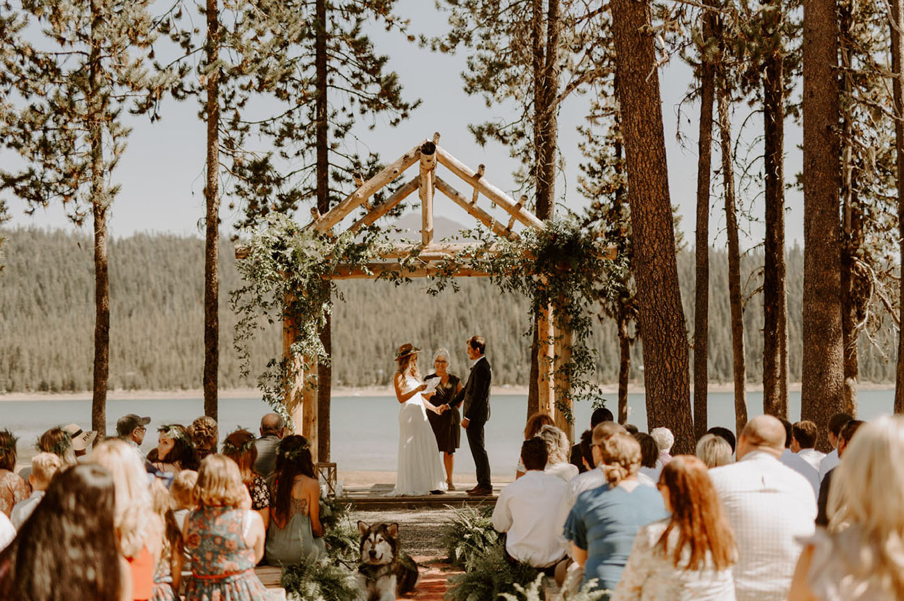 Oregon Boho Campground Wedding