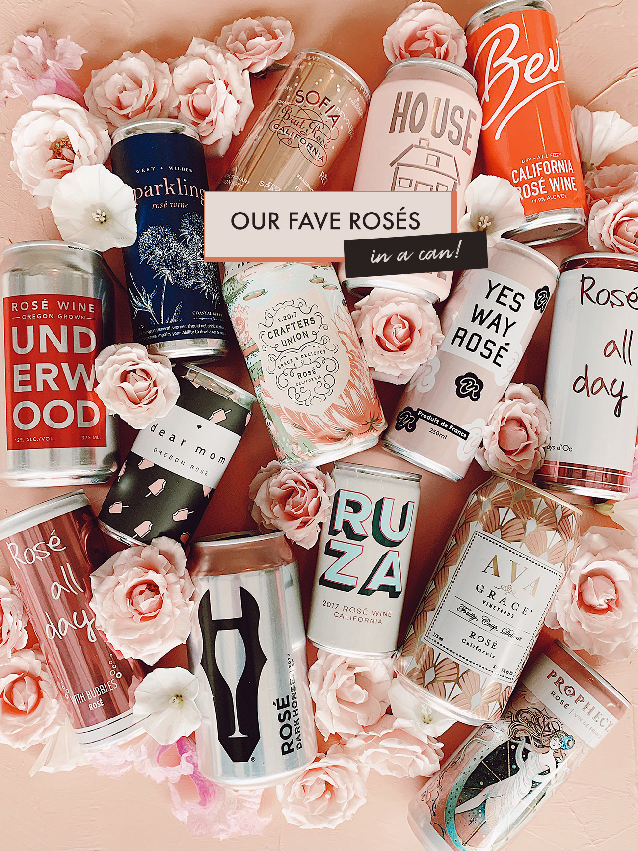 The Best Rosés in a Can!