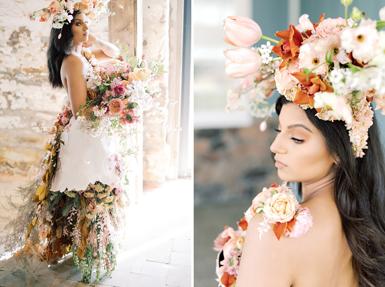 Wearable Floral Dress