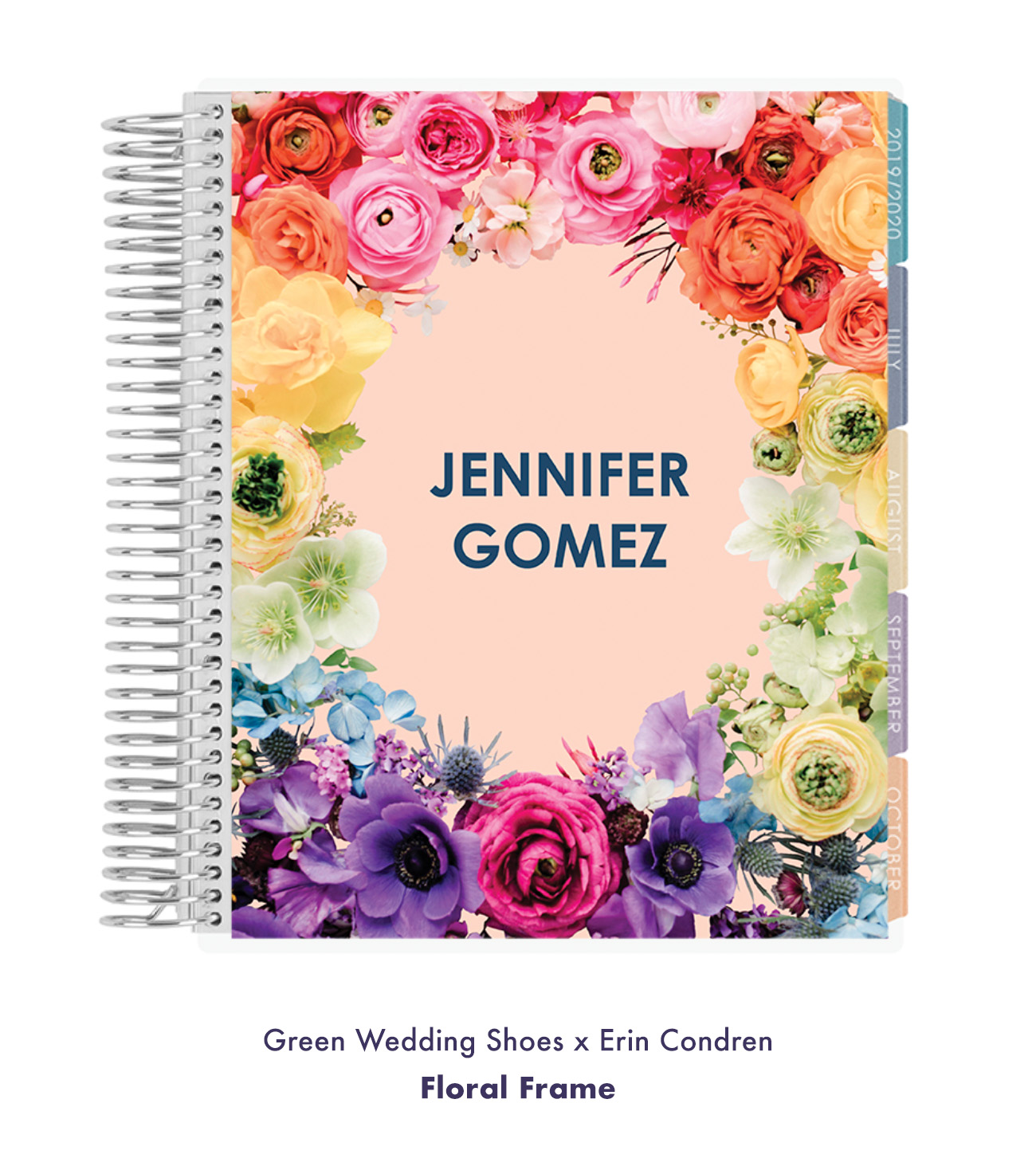 Green Wedding Shoes x Erin Condren Floral Frame Design