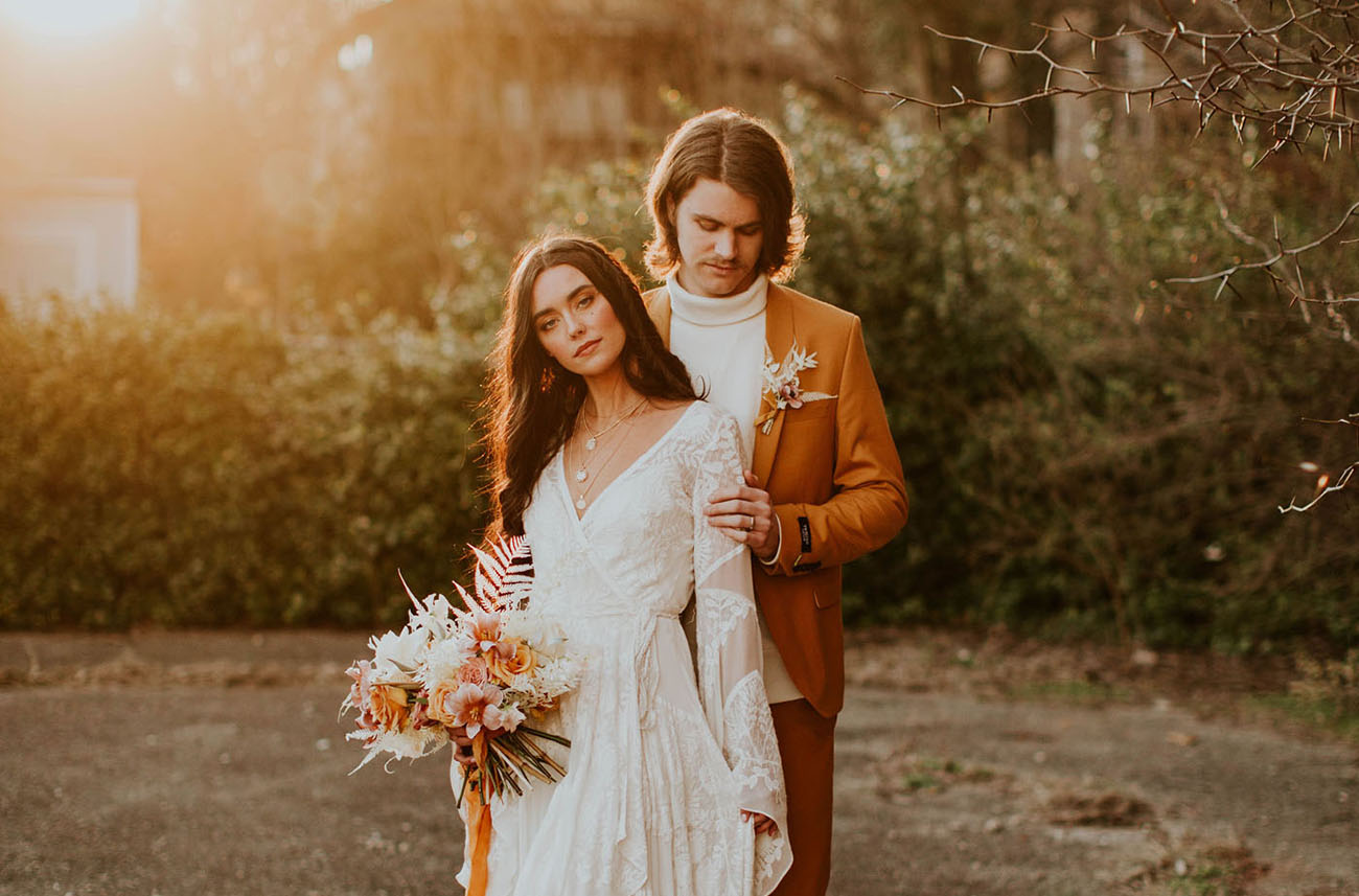 70s New Age Wedding Inspiration