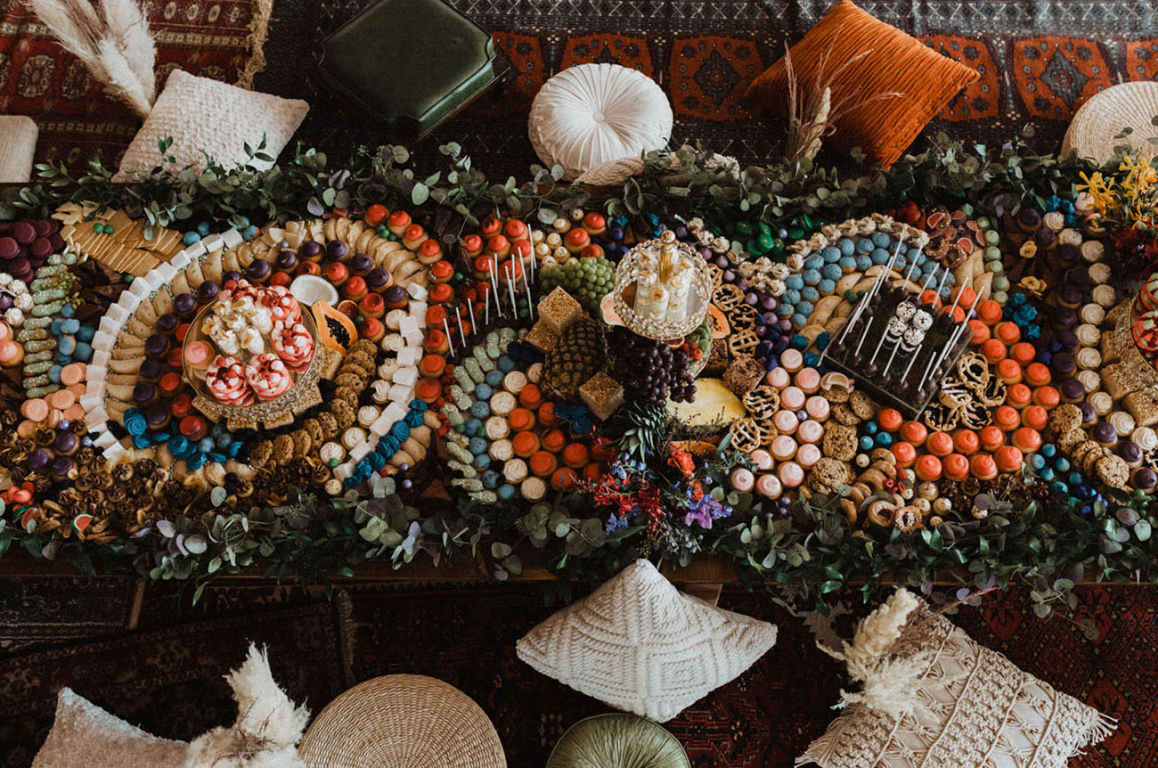 Dessert Grazing Table