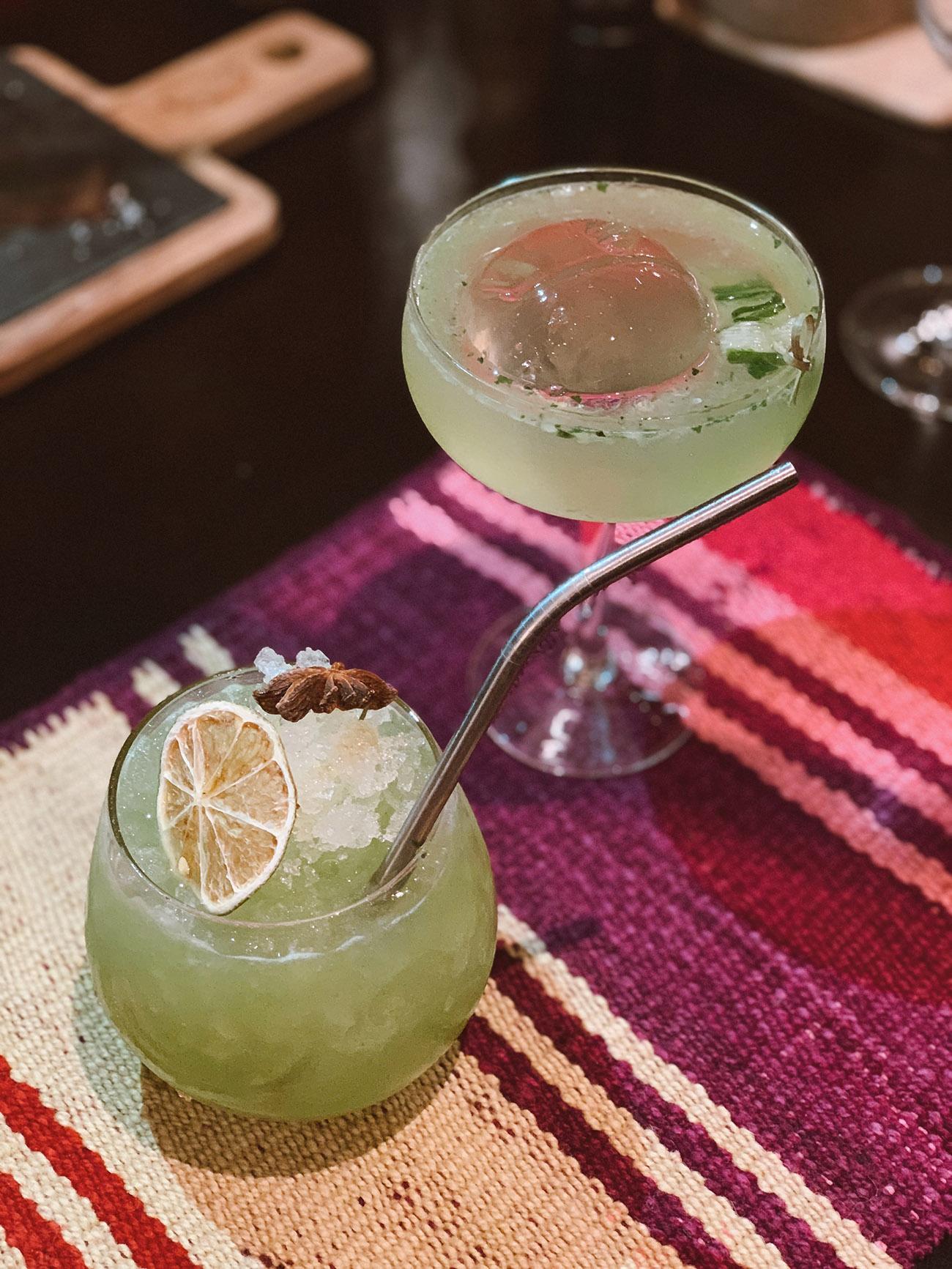 Cocktails at Qespi Restaurant in Cusco