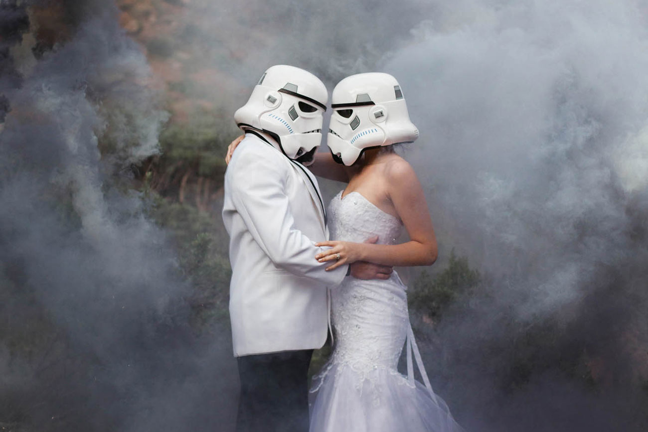 Star Wars wedding ideas