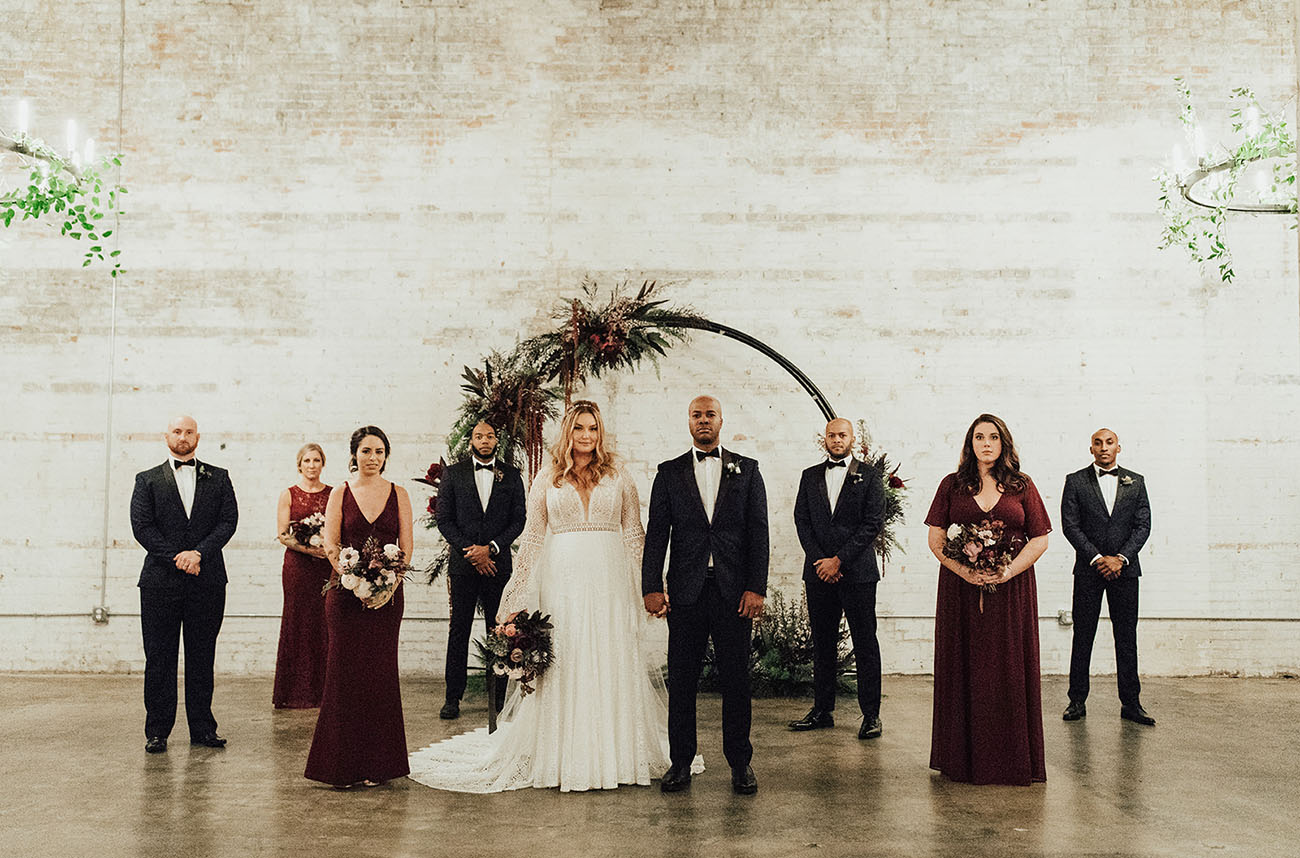 Warehouse Wedding in Texas