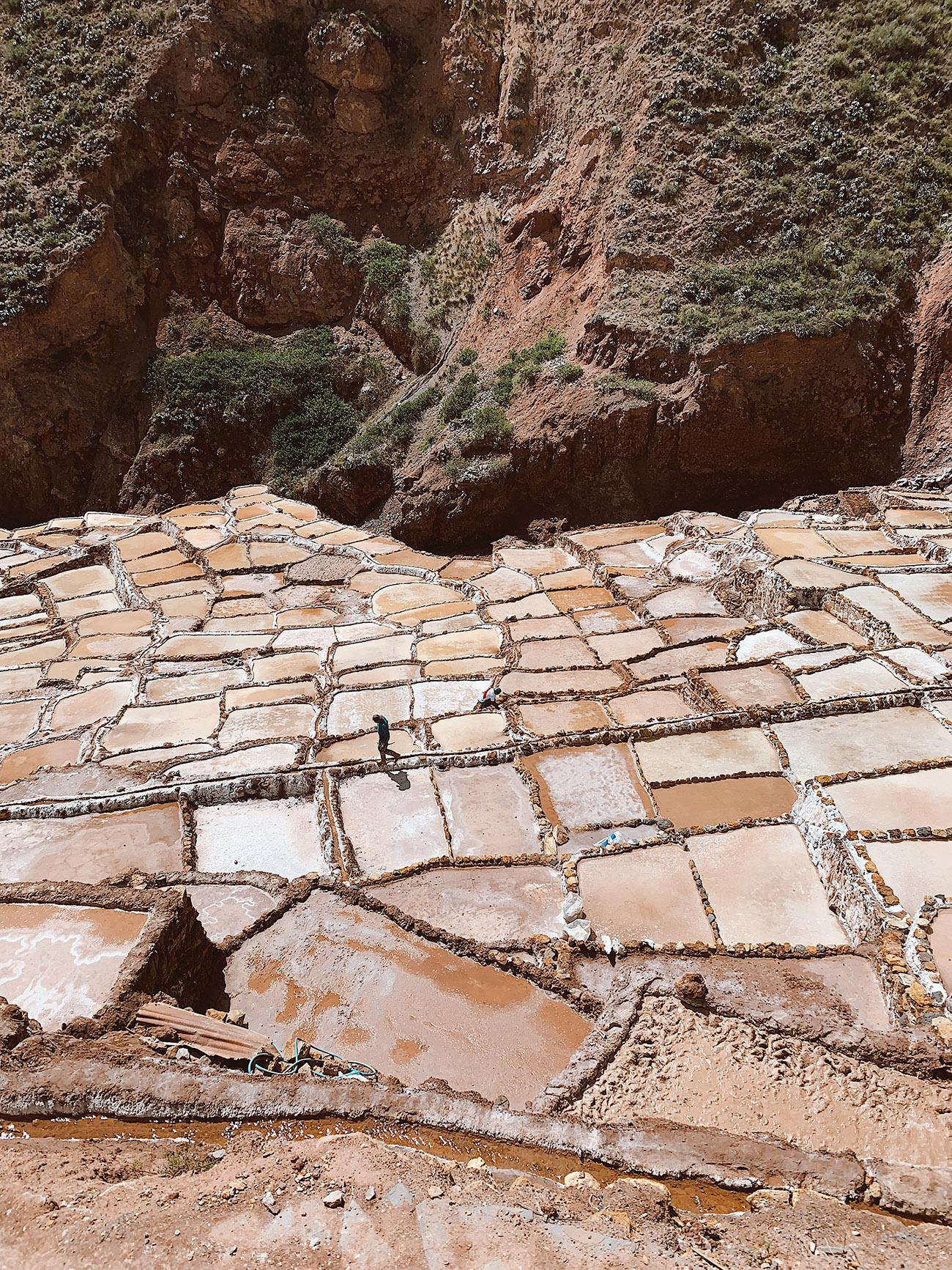 Maras Salt Mines in Peru