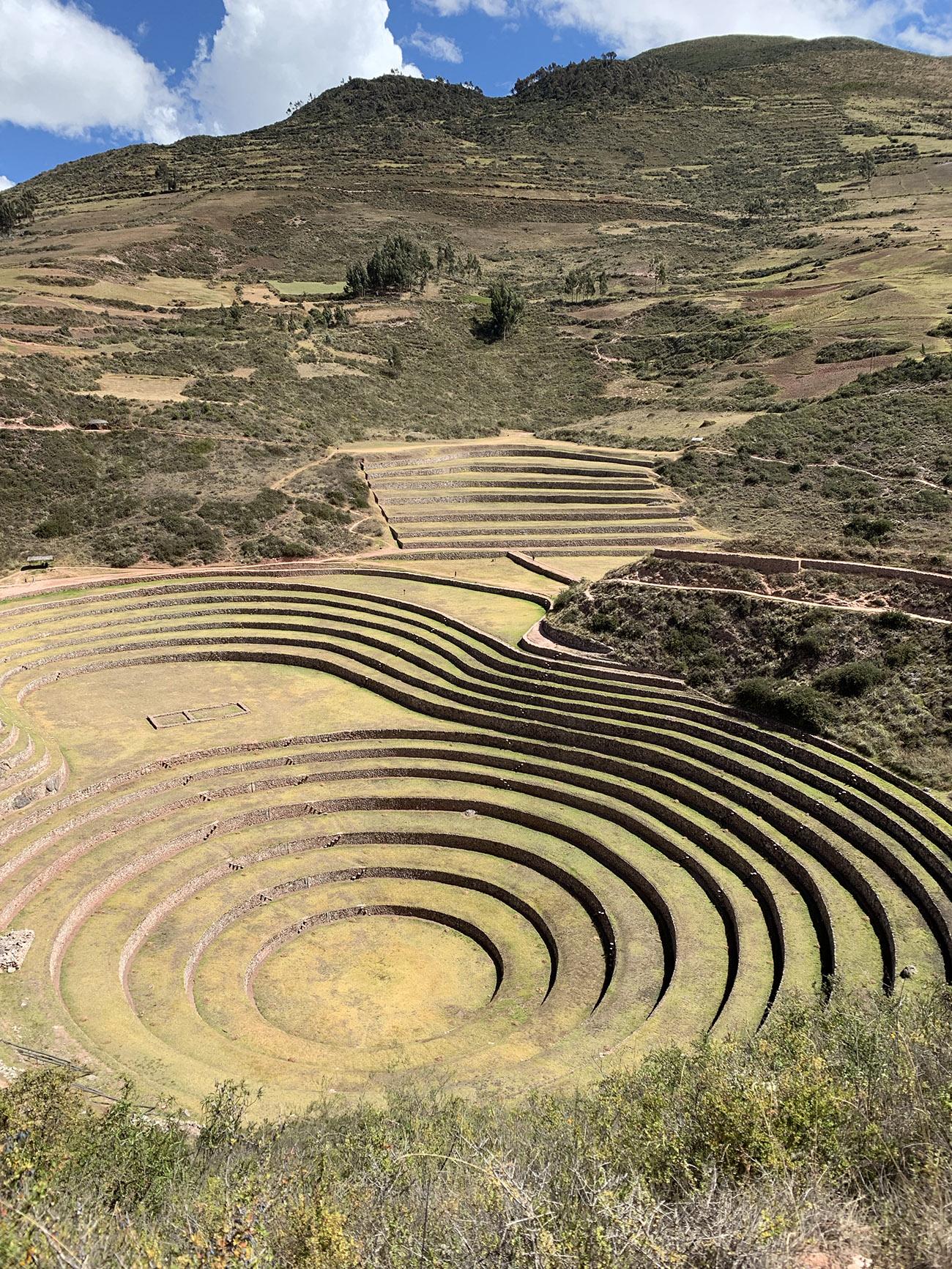 Moray Ruins in Peru