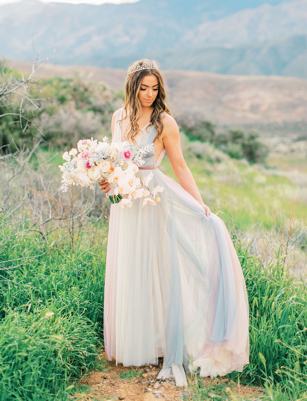 Rainbow Wedding Dress Inspiration