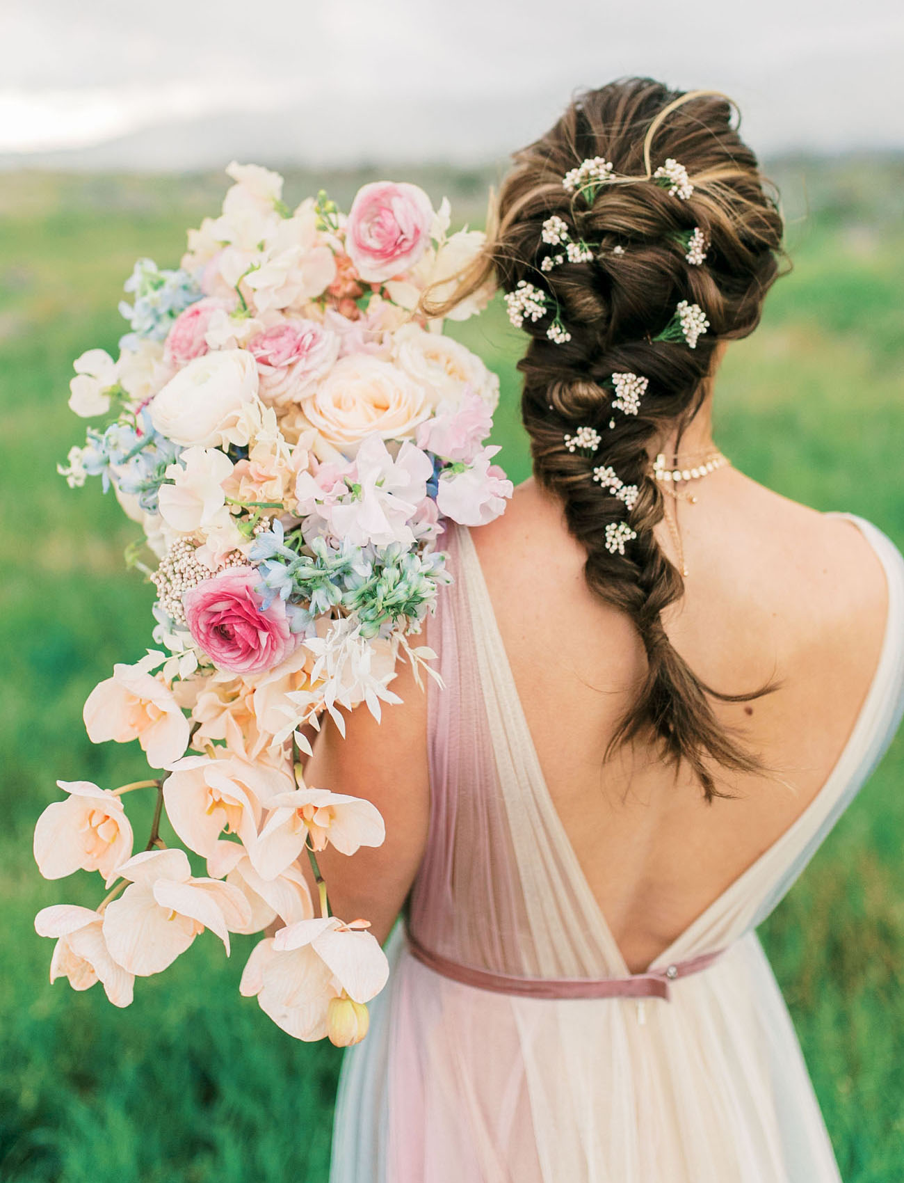pastel ranunculus bouquet