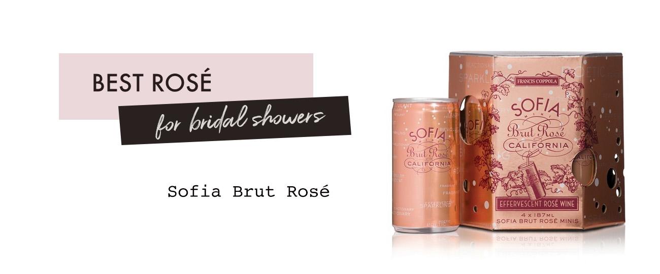sofia brut rose minis